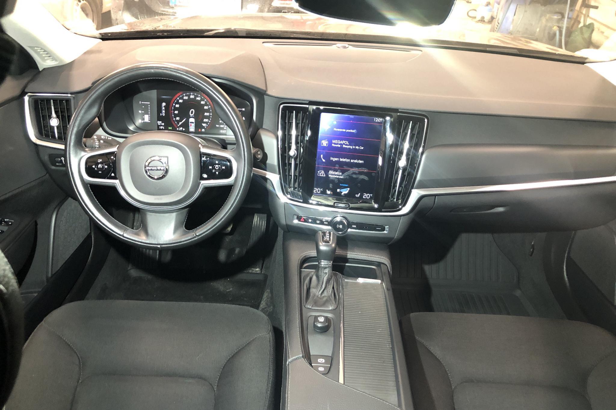 Volvo V90 D3 AWD (150hk) - 81 270 km - Automatic - black - 2018