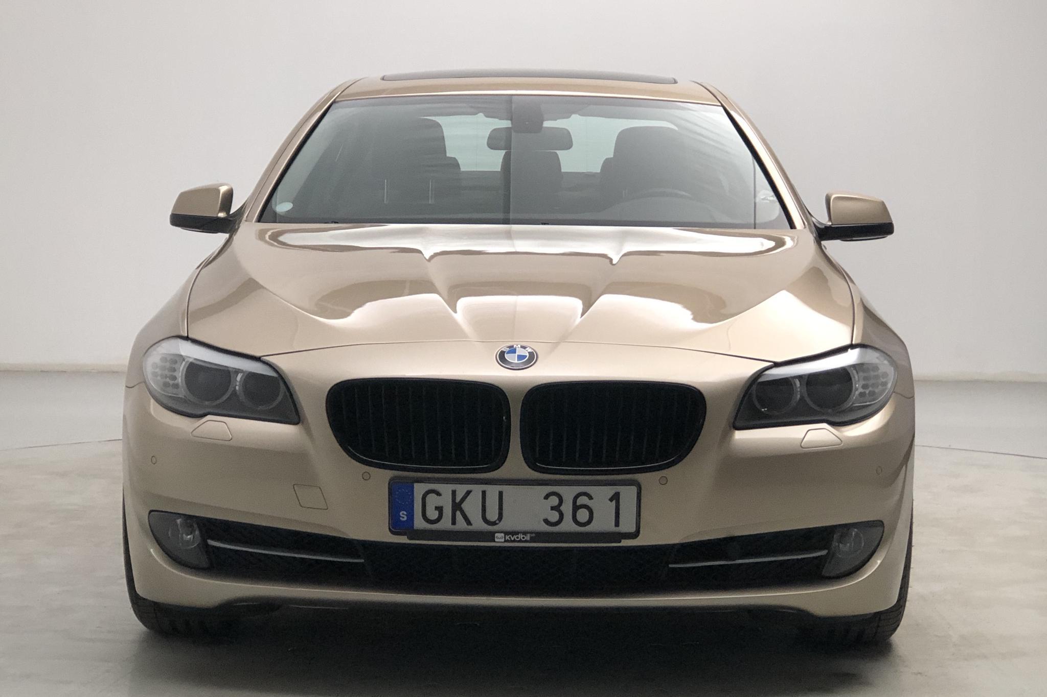 BMW 528i Sedan, F10 (258hk) - 115 530 km - Automatic - Light Brown - 2010