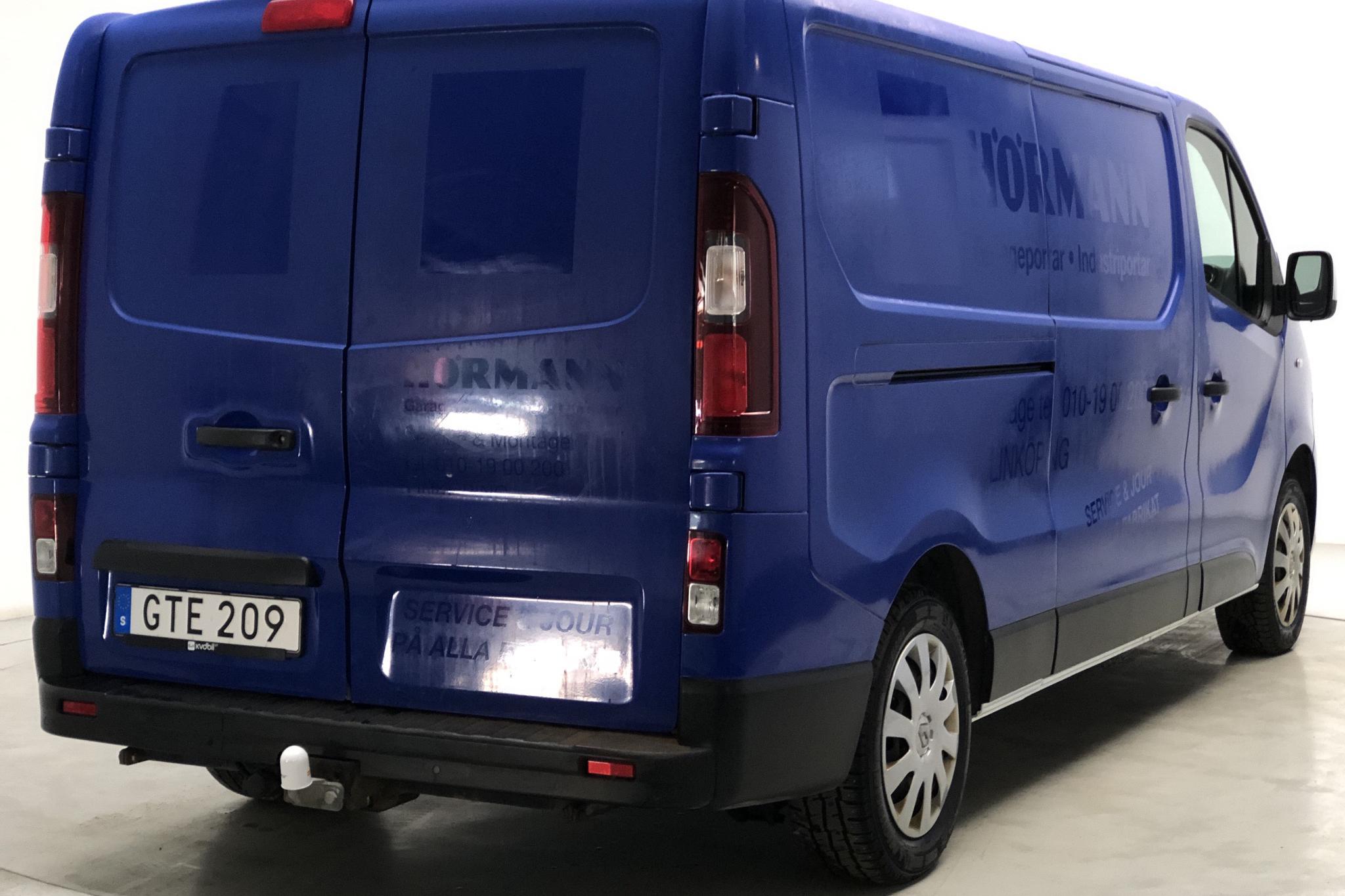 Renault Trafic 1.6 dCi Skåp (140hk) - 12 382 mil - Manuell - vit - 2015
