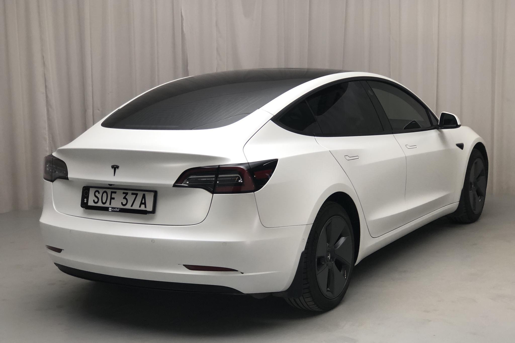 Tesla Model 3 Long Range AWD - 4 792 mil - Automat - vit - 2019