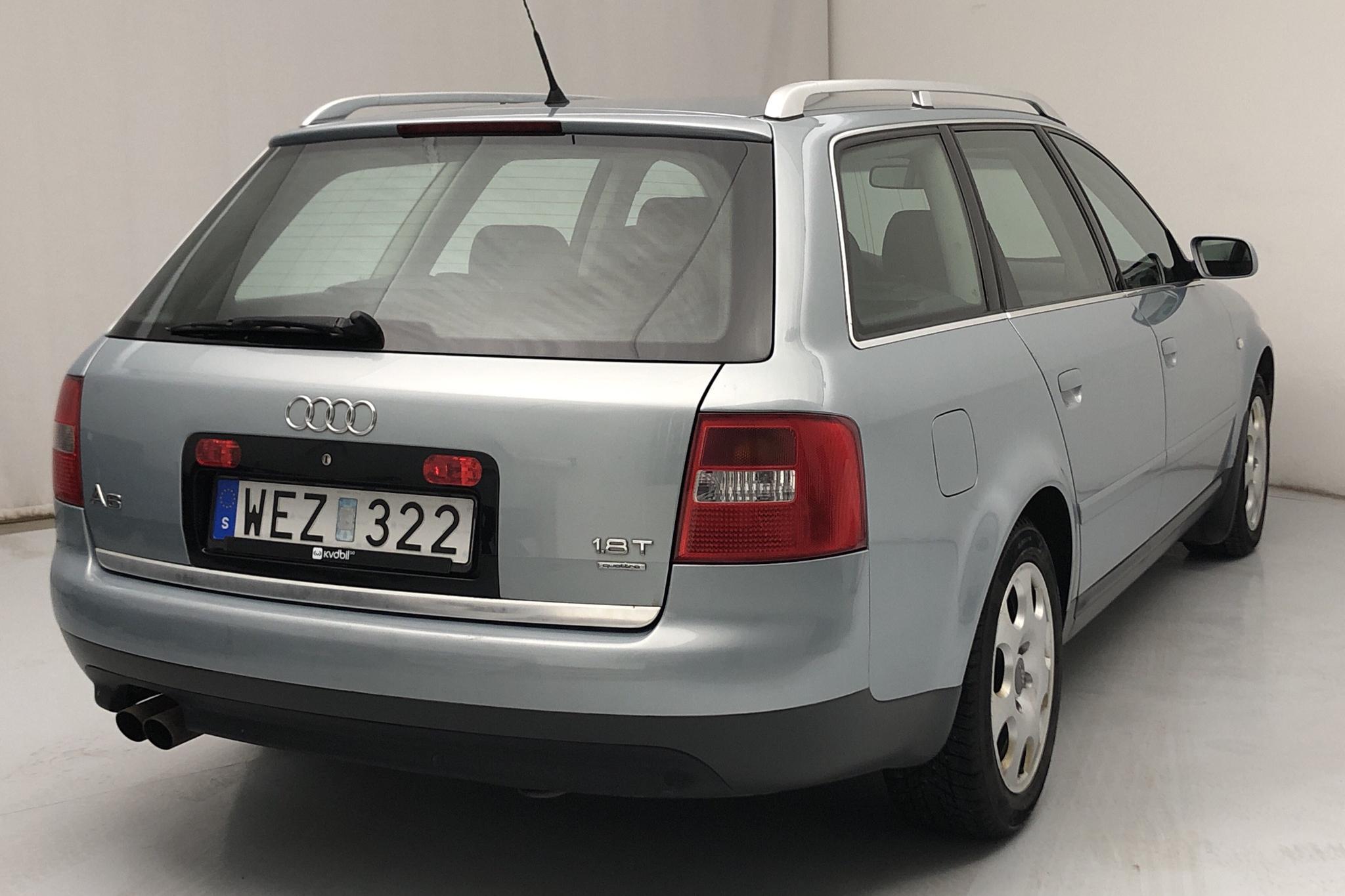Audi A6 1.8T Avant (150hk) - 13 945 mil - Automat - Light Blue - 2005