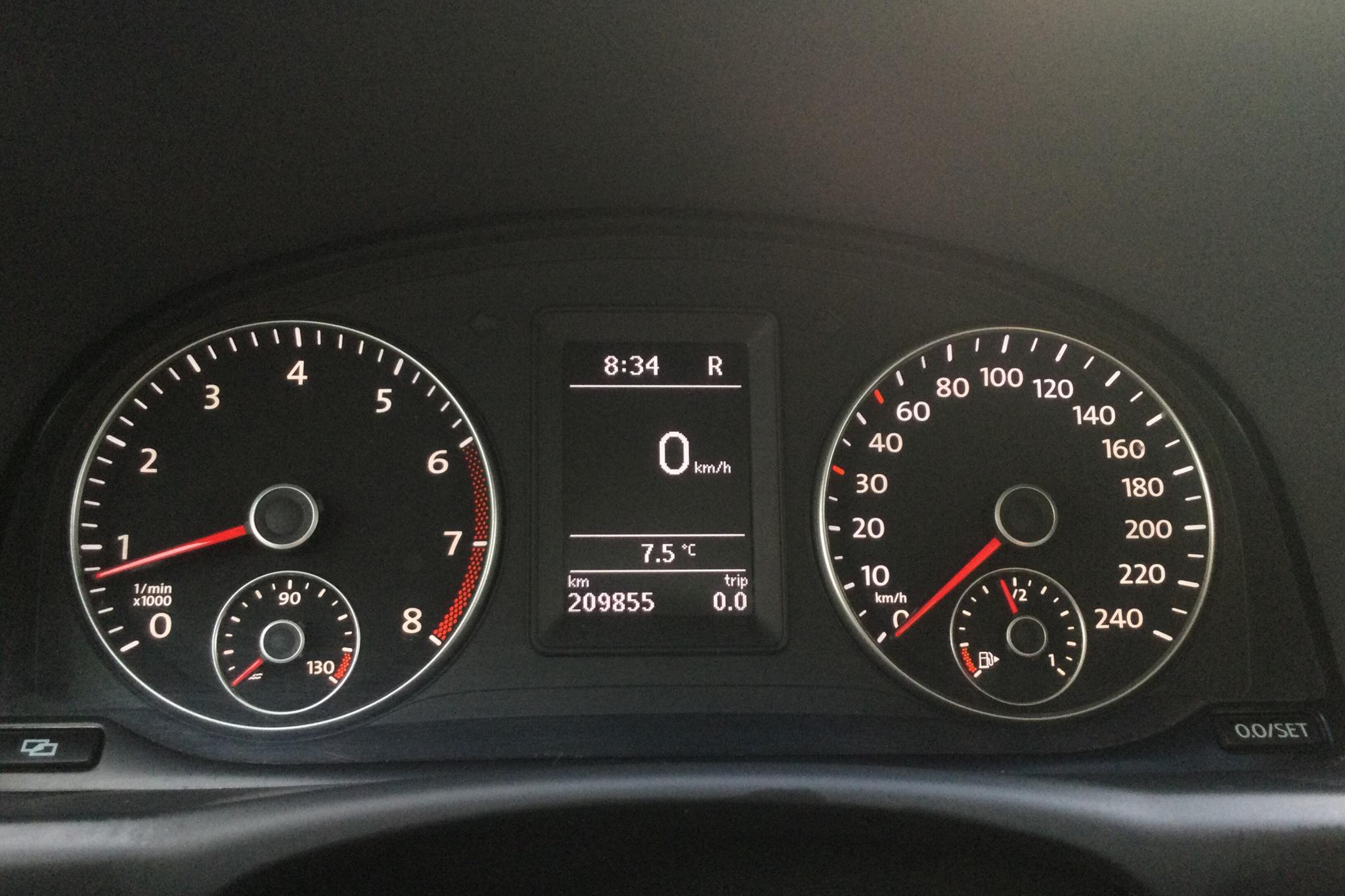 VW CrossTouran 1.4 TSI (140hk) - 20 985 mil - Automat - brun - 2011