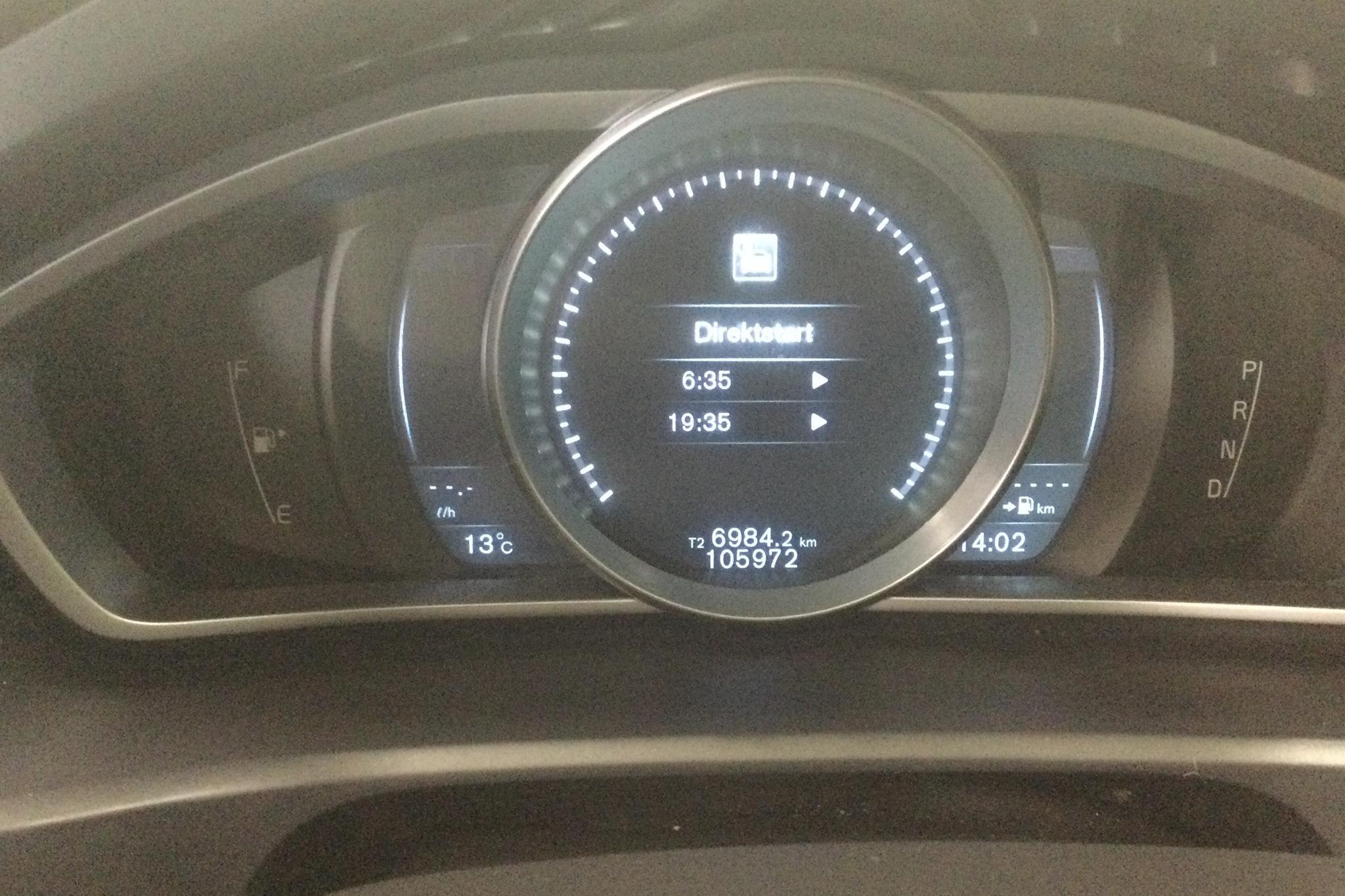 Volvo V40 D2 (115hk) - 10 598 mil - Automat - grå - 2015