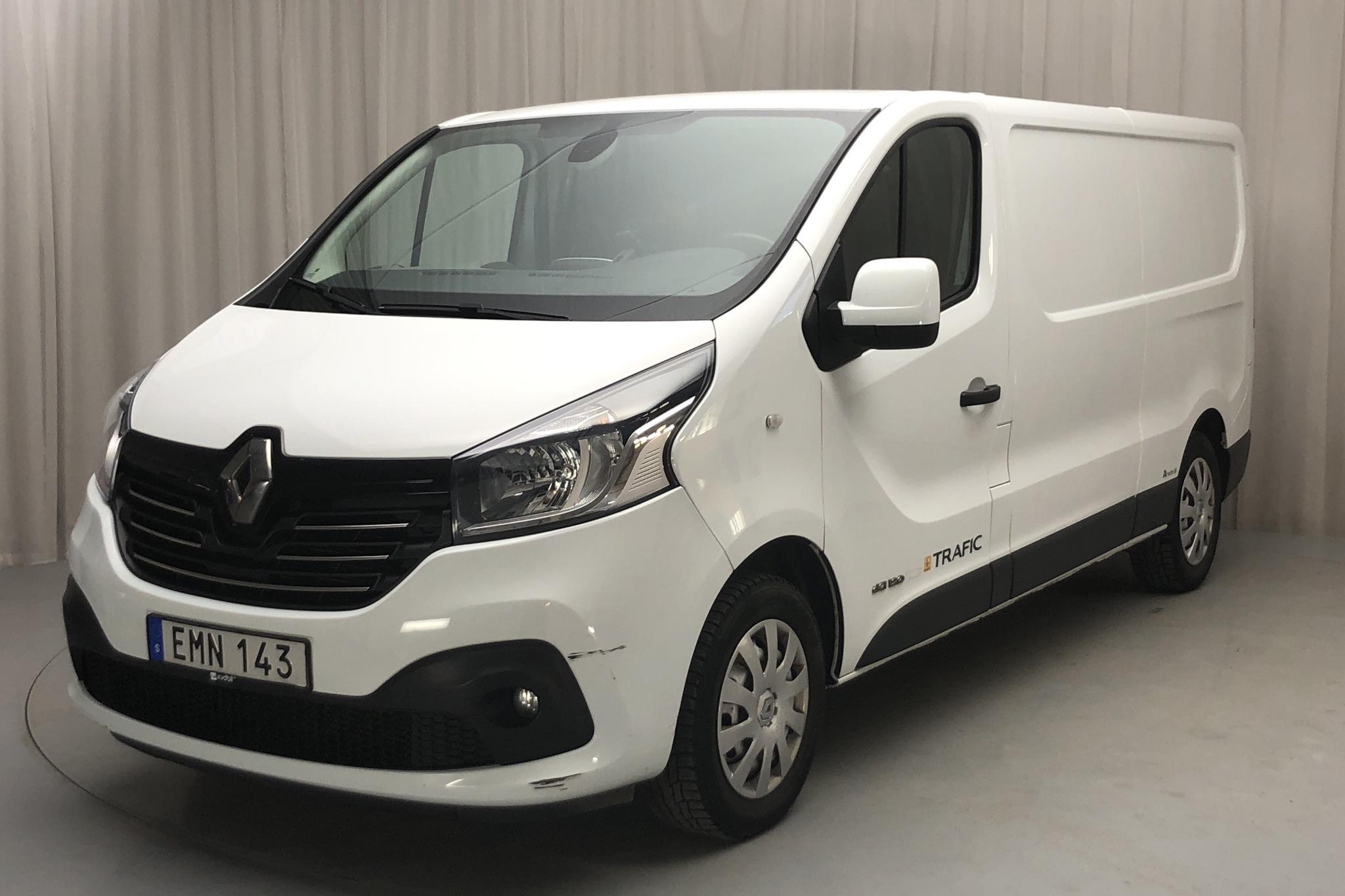 Renault Trafic 1.6 dCi Skåp (120hk) - 55 850 km - Manual - white - 2015