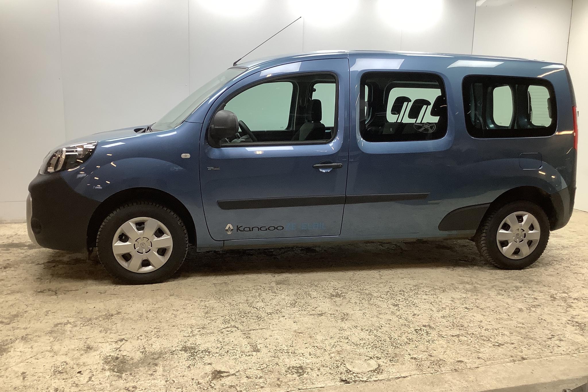 Renault Kangoo Z.E Power Plus 22 kWh Maxi Skåp (60hk) - 2 260 km - Automatic - blue - 2020