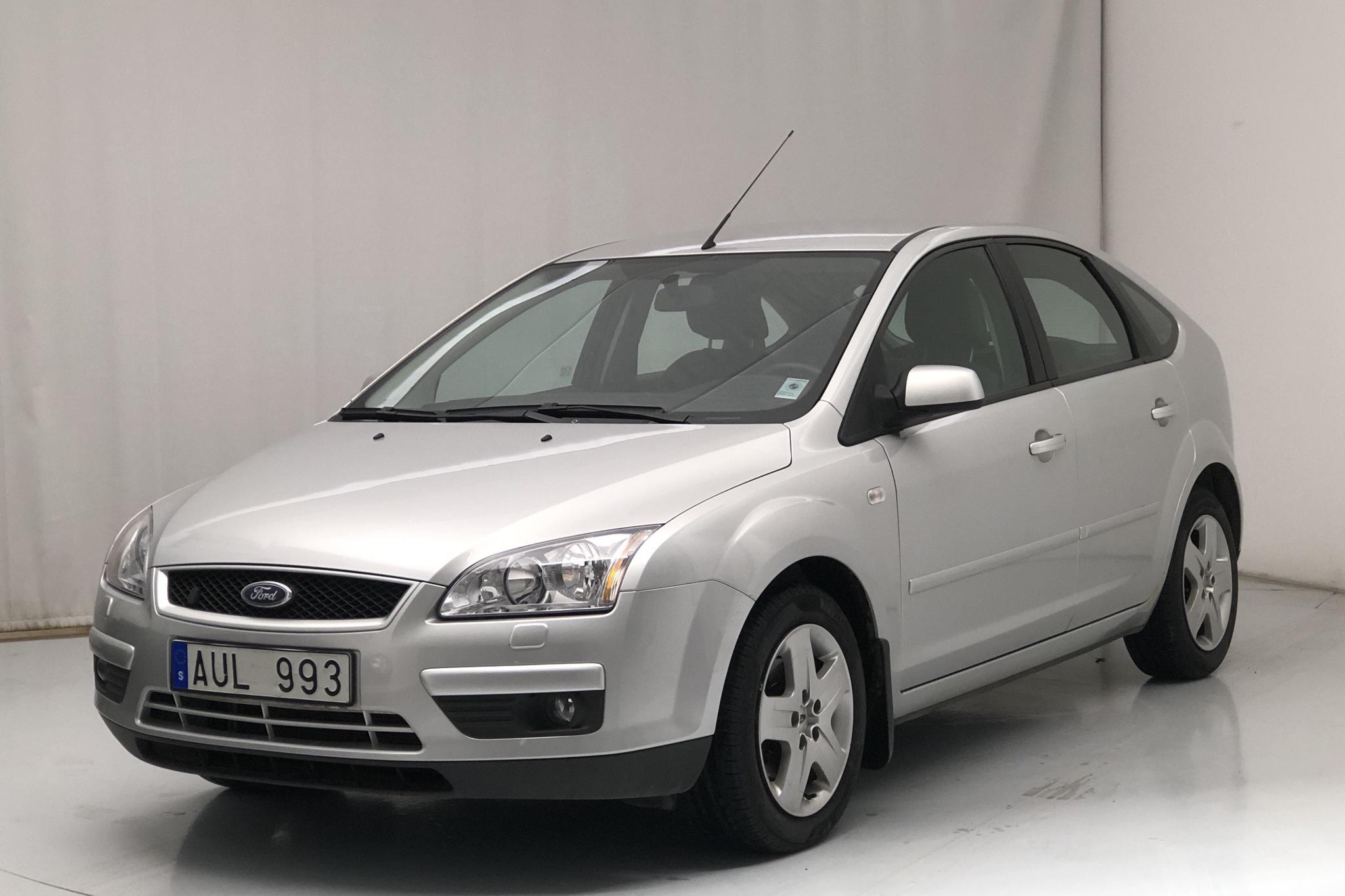 Ford Focus 1.8 Flexifuel 5dr (125hk) - 78 070 km - Manual - gray - 2007