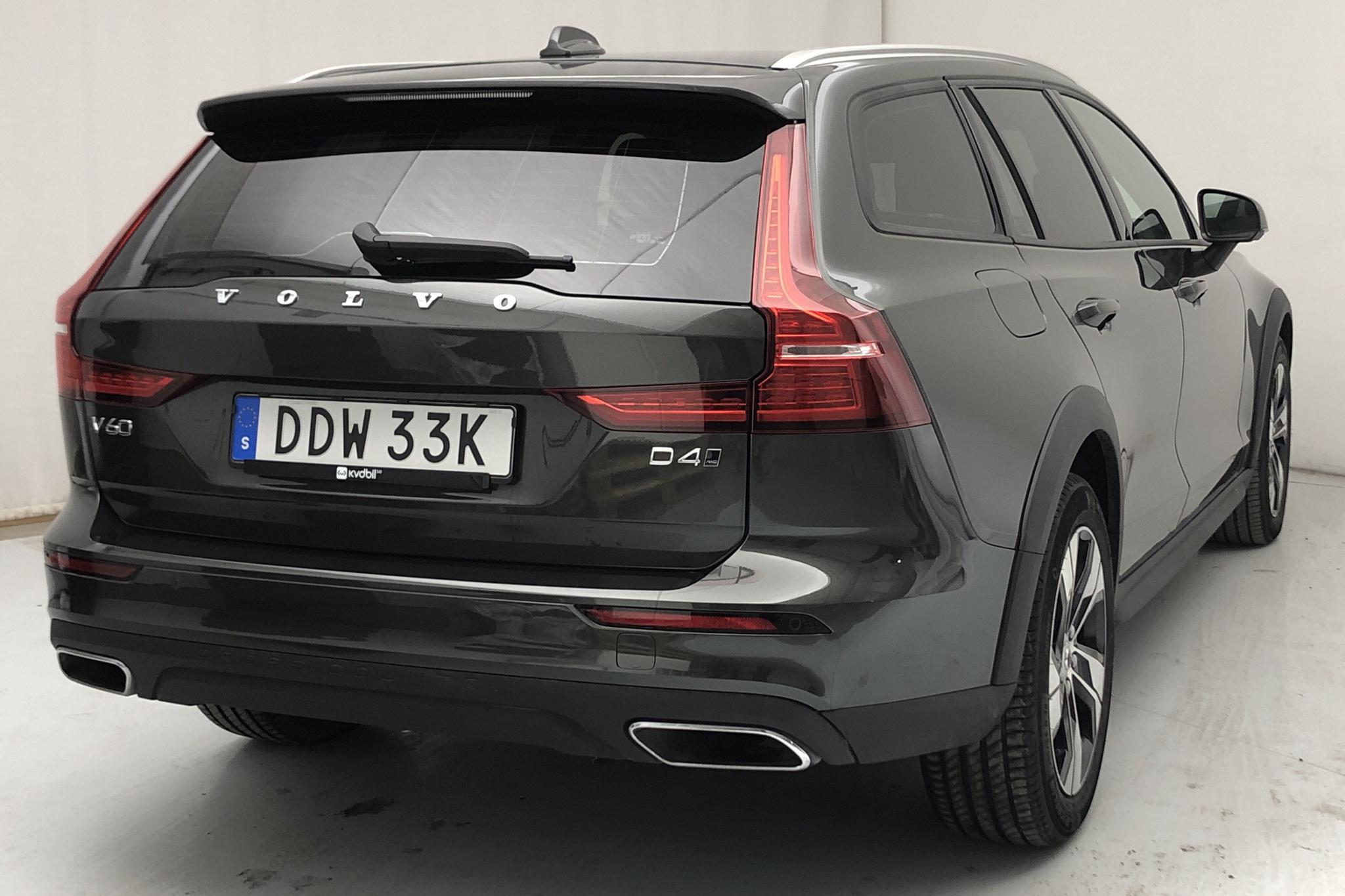 Volvo V60 D4 Cross Country AWD (190hk) - 891 mil - Automat - Dark Grey - 2020
