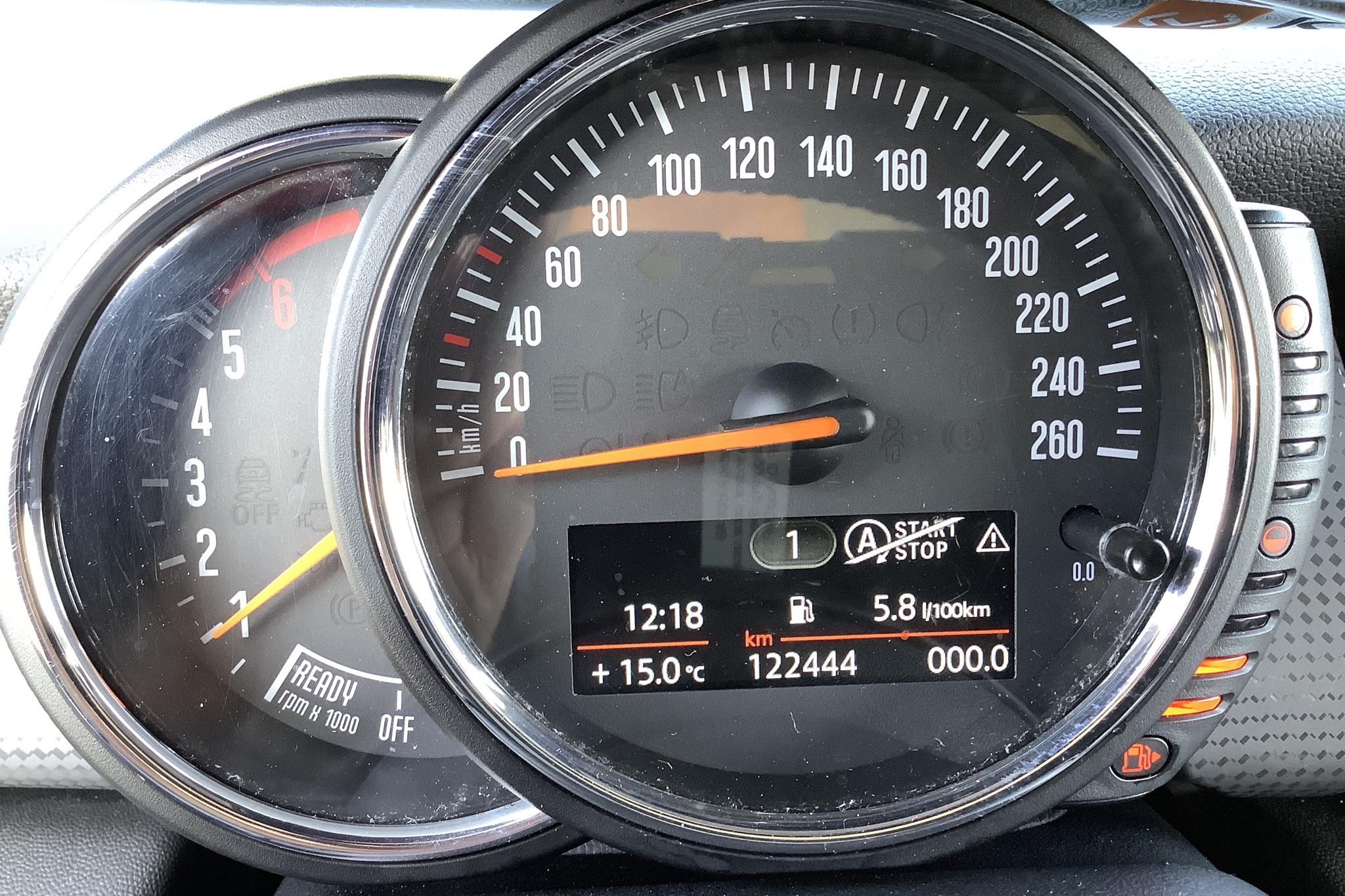 MINI One D Hatch 5dr (95hk) - 122 440 km - Manual - white - 2016