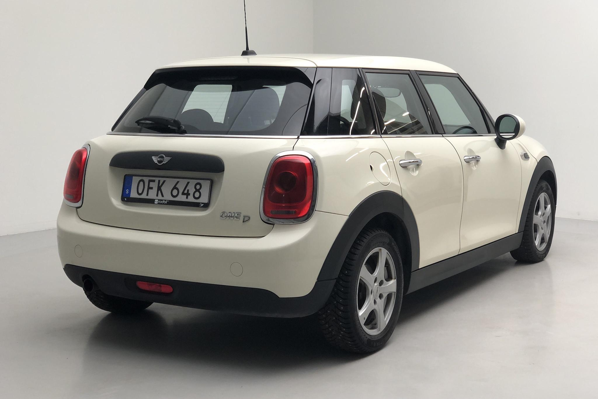 MINI One D Hatch 5dr (95hk) - 12 244 mil - Manuell - vit - 2016
