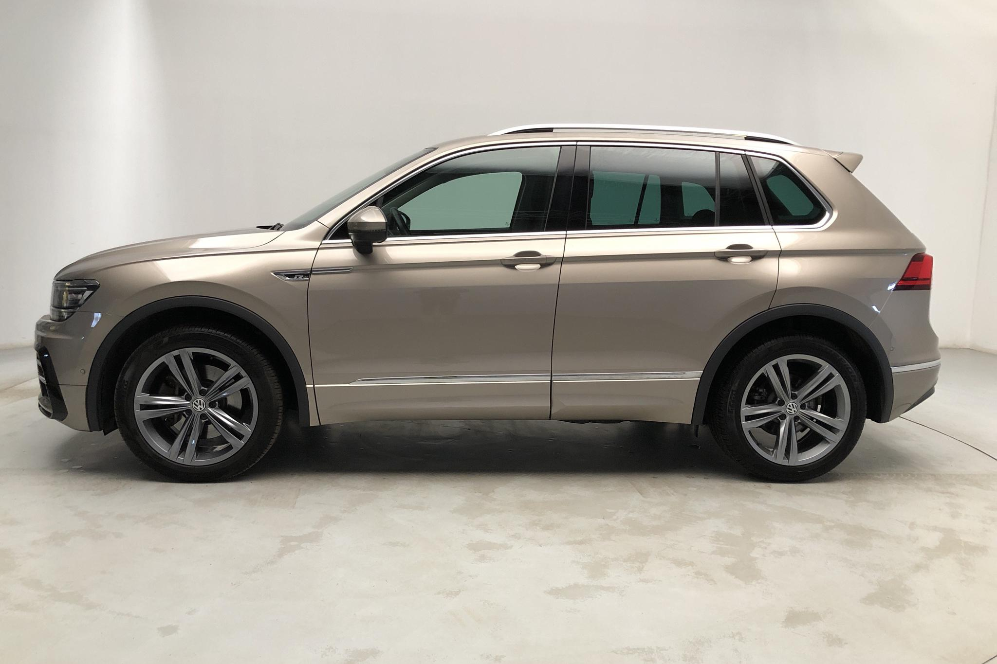 VW Tiguan 2.0 TSI 4MOTION (180hk) - 42 360 km - Automatic - Light Brown - 2018