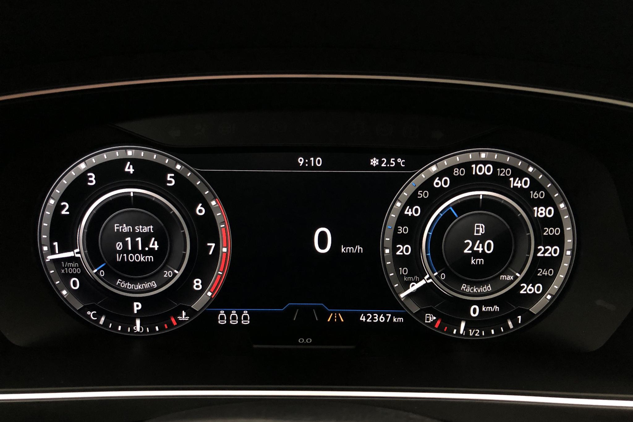 VW Tiguan 2.0 TSI 4MOTION (180hk) - 4 236 mil - Automat - Light Brown - 2018