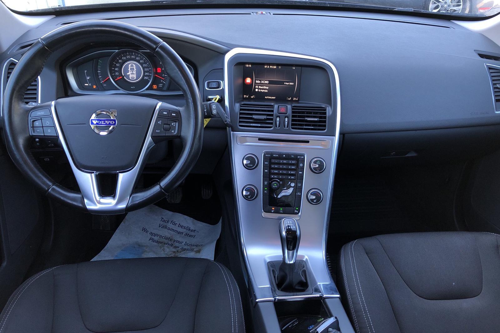 Volvo XC60 D3 2WD (150hk) - 104 460 km - Manual - black - 2017
