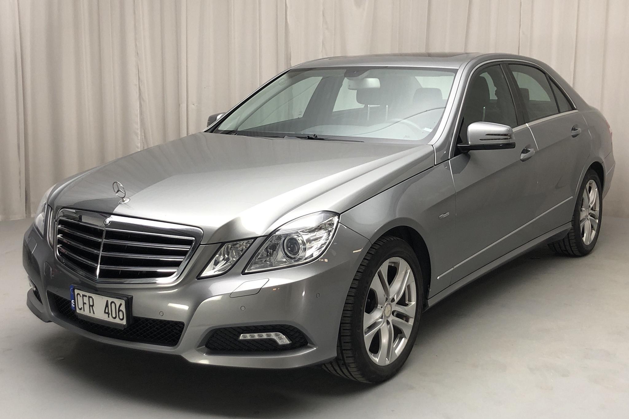 Mercedes E 220 CDI W212 (170hk) - 157 740 km - Automatic - gray - 2009