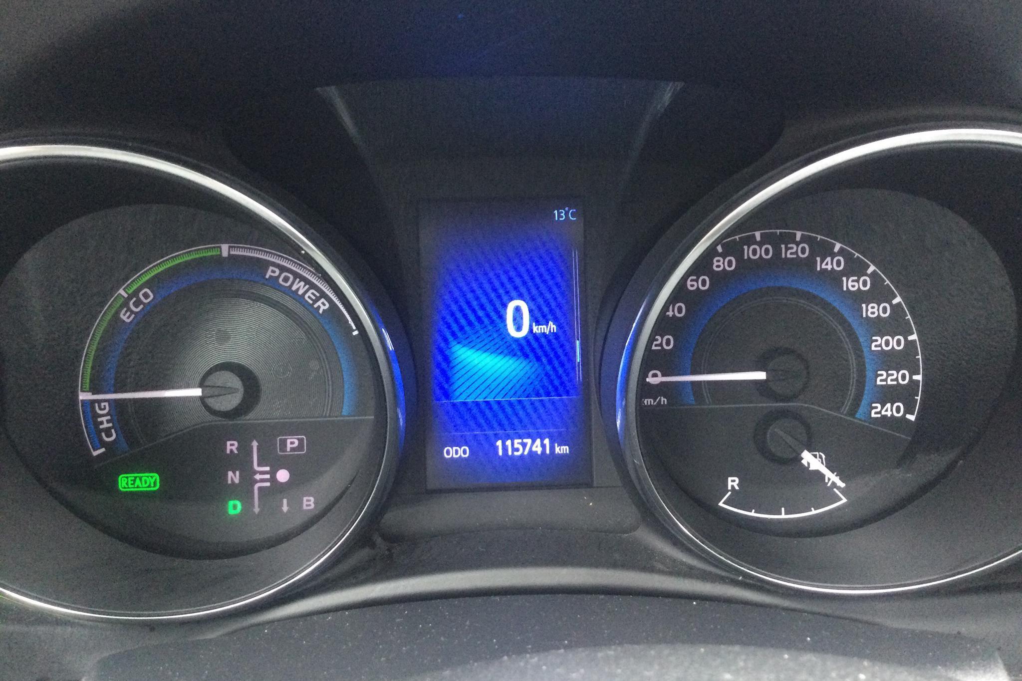 Toyota Auris 1.8 HSD 5dr (99hk) - 115 740 km - Automatic - blue - 2016