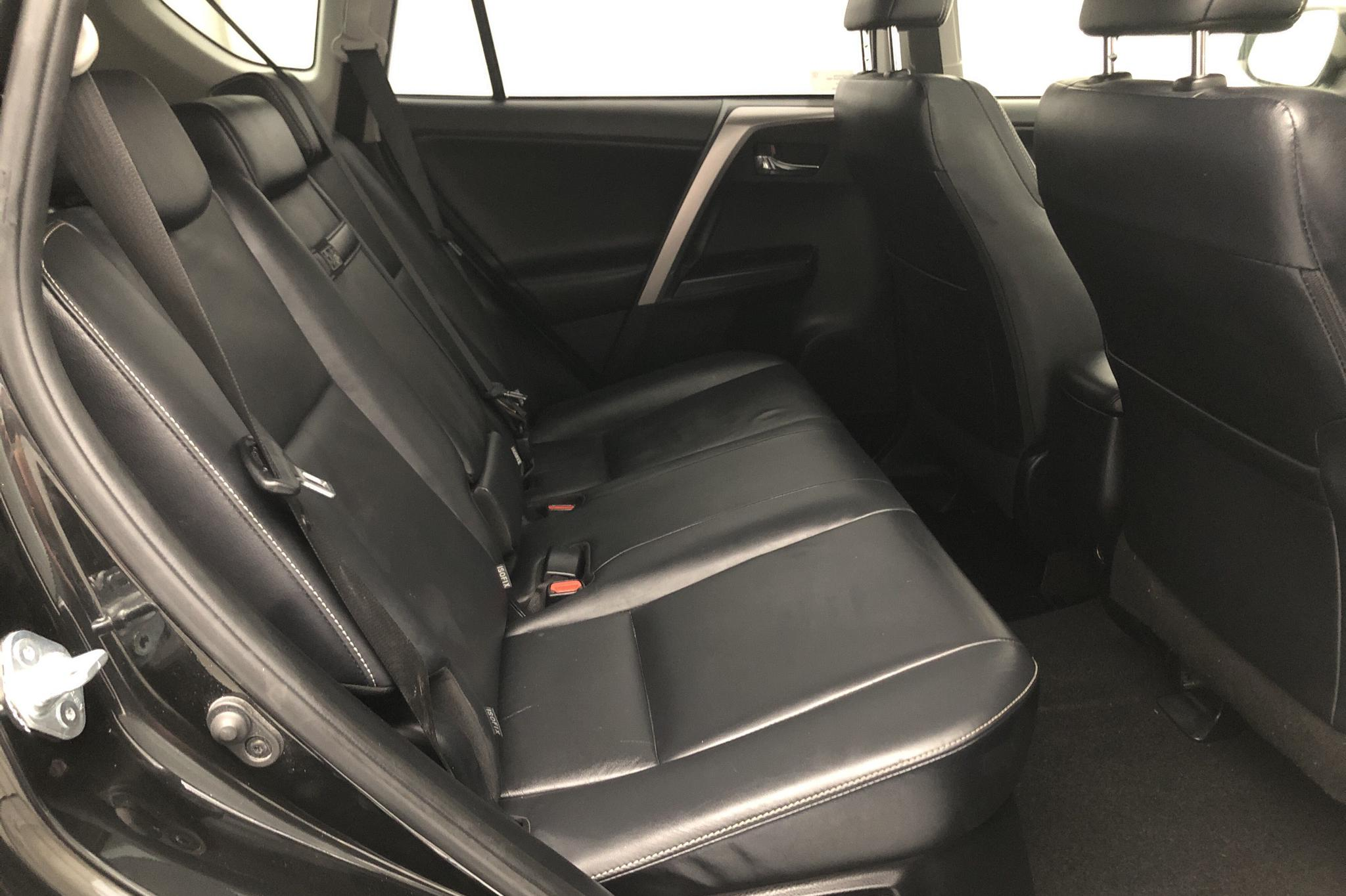 Toyota RAV4 2.5 HSD AWD (197hk) - 6 906 mil - Automat - svart - 2017
