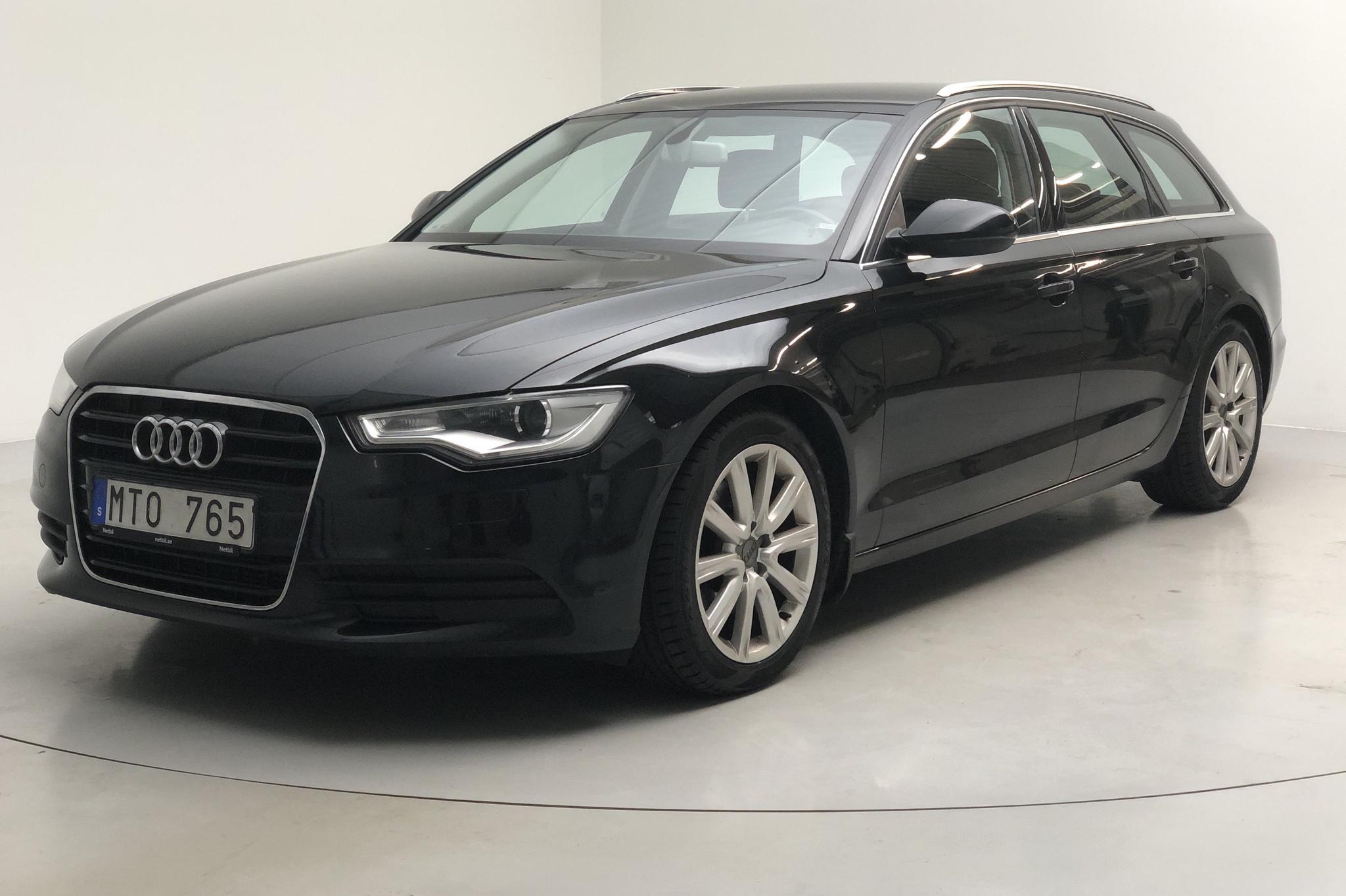 Audi A6 2.0 TDI Avant (177hk) - 17 645 mil - Automat - svart - 2012