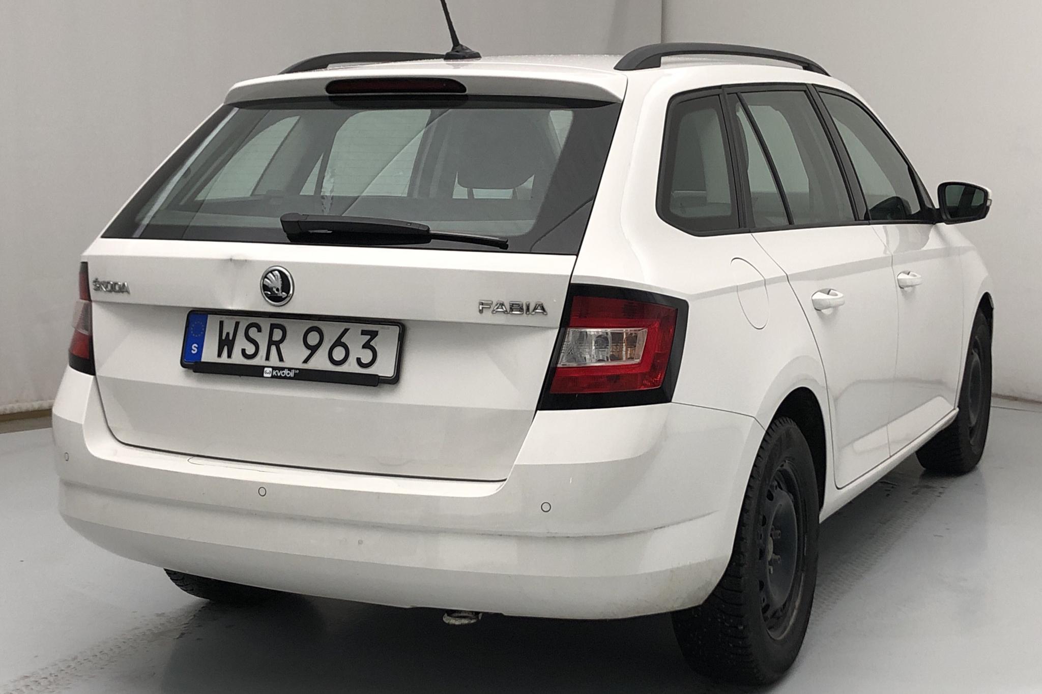 Skoda Fabia 1.0 TSI Kombi (110hk) - 198 270 km - Automatic - white - 2018