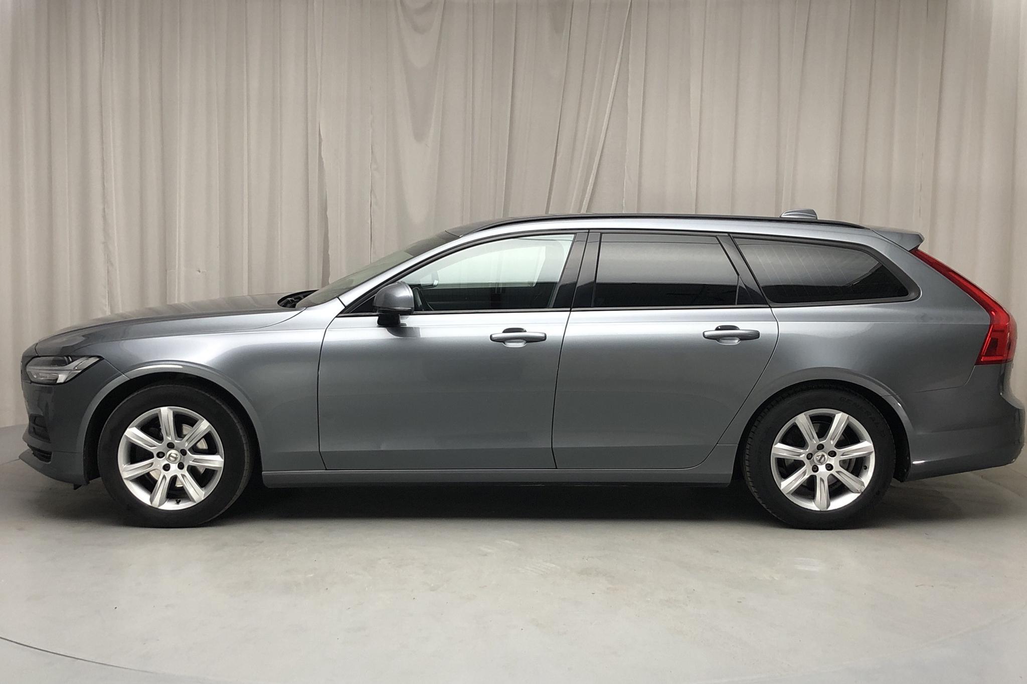 Volvo V90 D4 (190hk) - 123 000 km - Automatic - gray - 2017