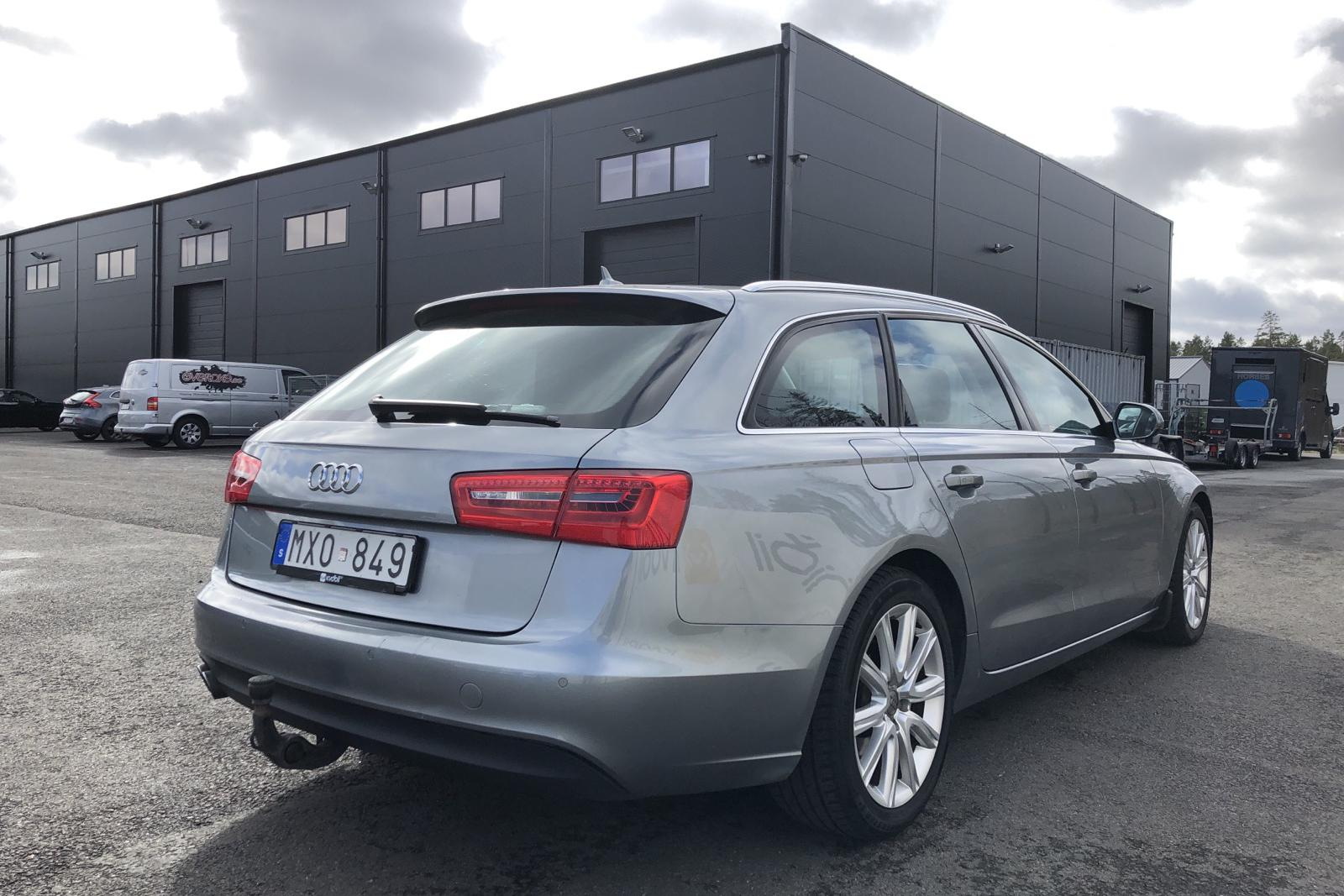 Audi A6 2.0 TDI Avant (177hk) - 24 873 mil - Automat - grå - 2013