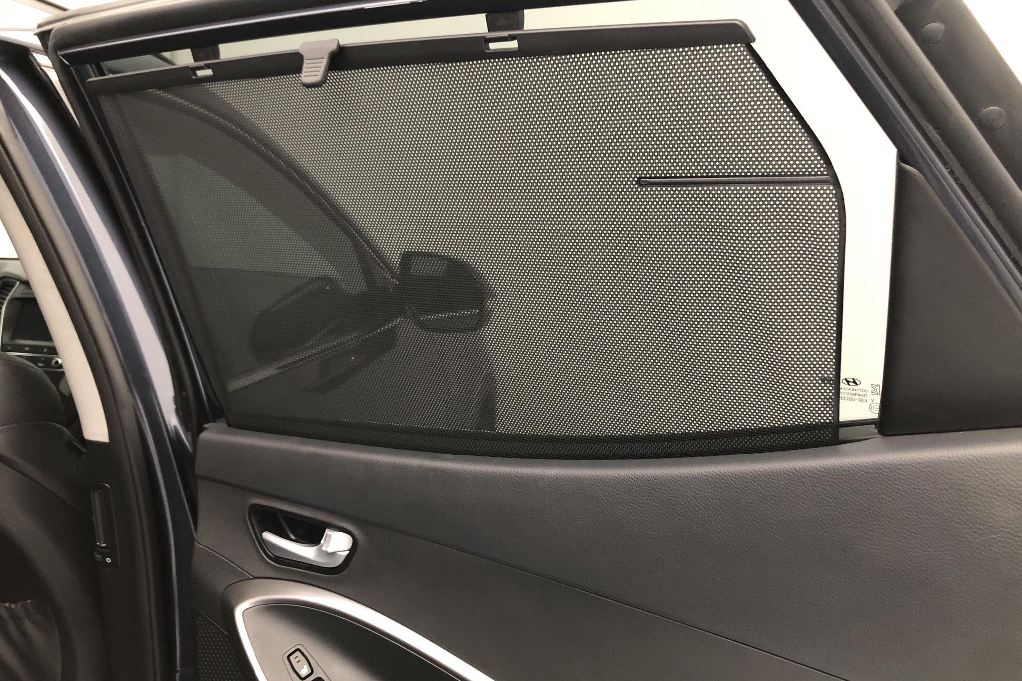 Hyundai Santa Fé 2.2 D 4WD (200hk) - 17 930 km - Automatic - Dark Blue - 2017