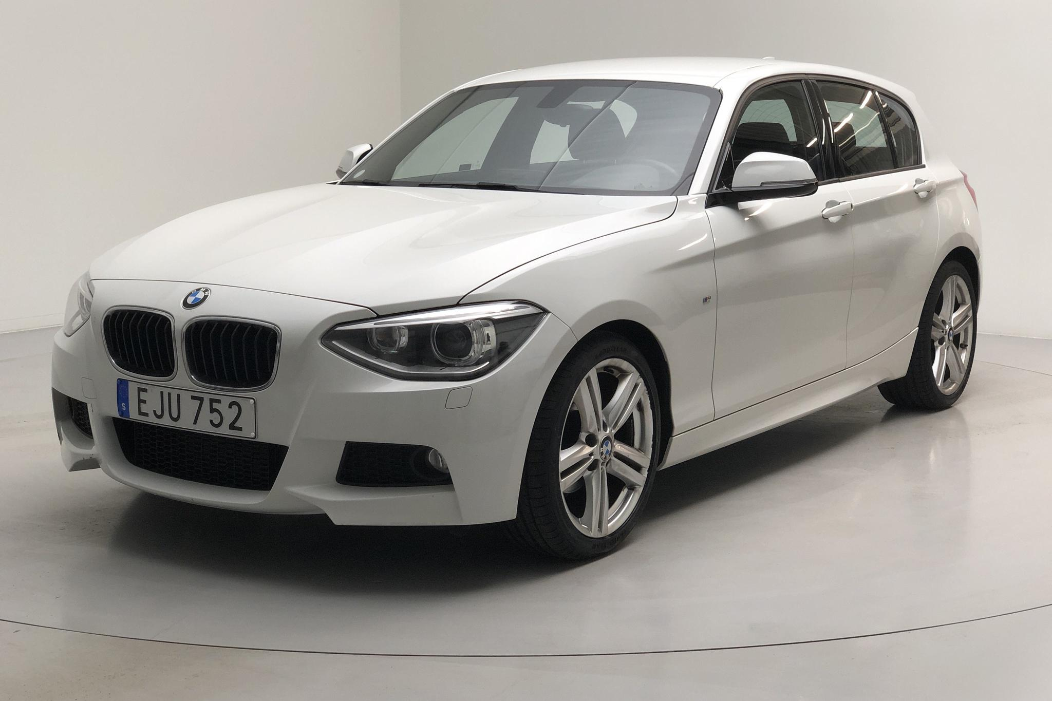 BMW 116i 5dr, F20 (136hk) - 68 060 km - Manual - white - 2015