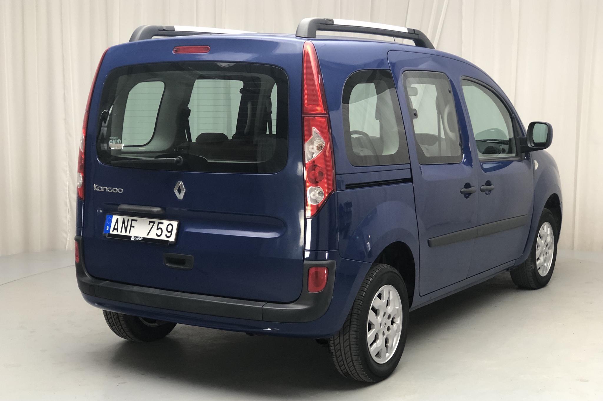 Renault Kangoo II 1.6 E85 (105hk) - 11 231 mil - Manuell - Dark Blue - 2010