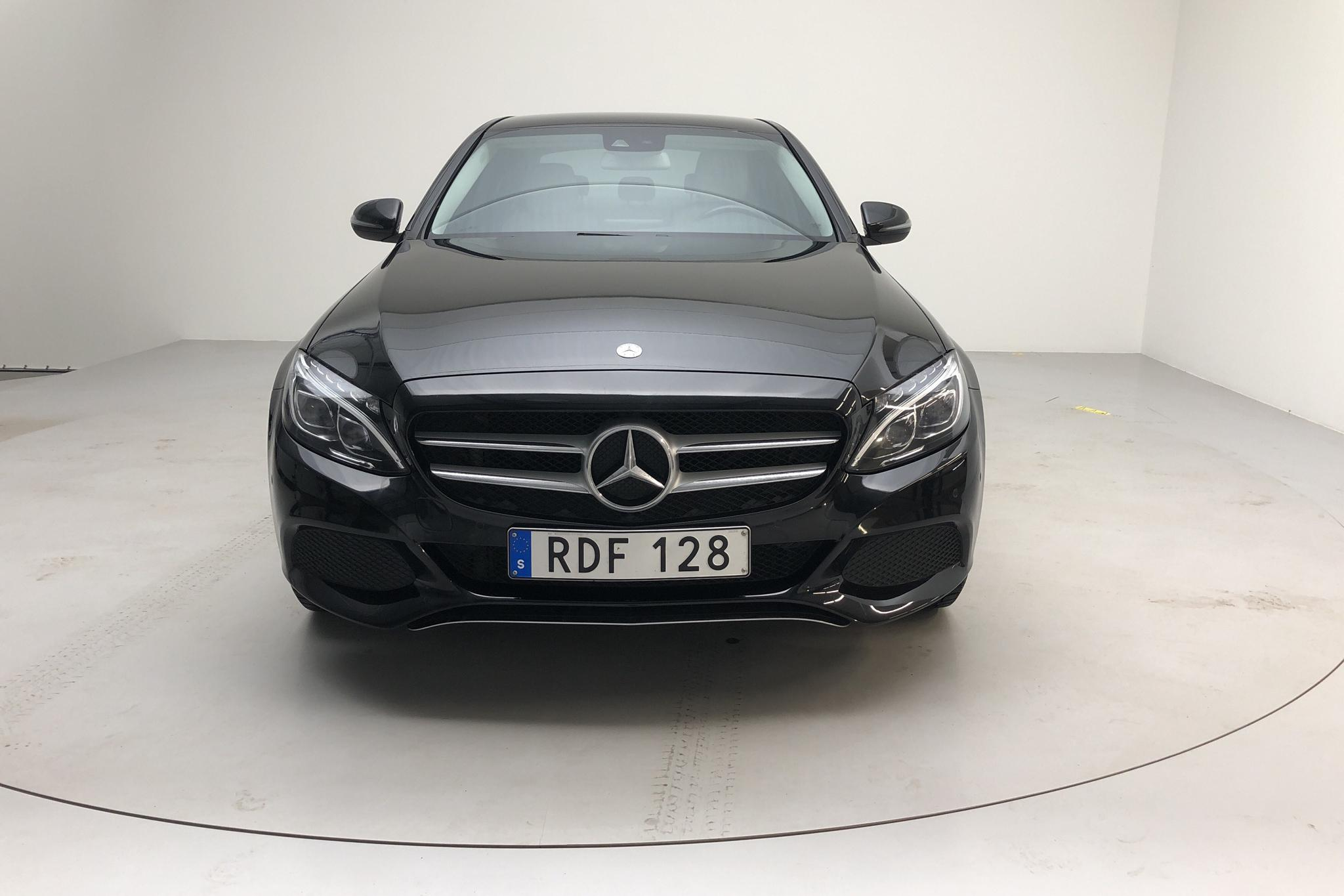Mercedes C 220 d 4MATIC W205 (170hk) - 184 060 km - Automatic - black - 2016