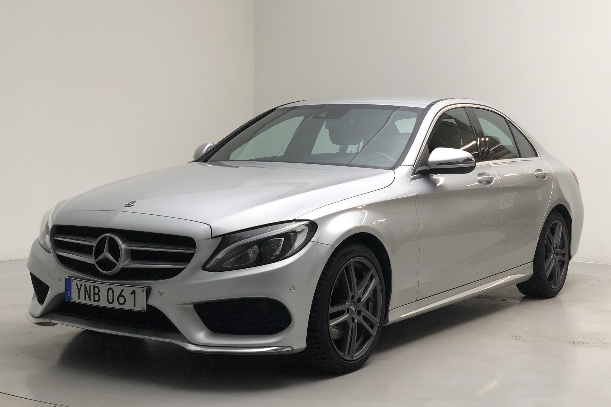 Mercedes C 220 d W205 (170hk) - 10 260 mil - Automat - silver - 2017