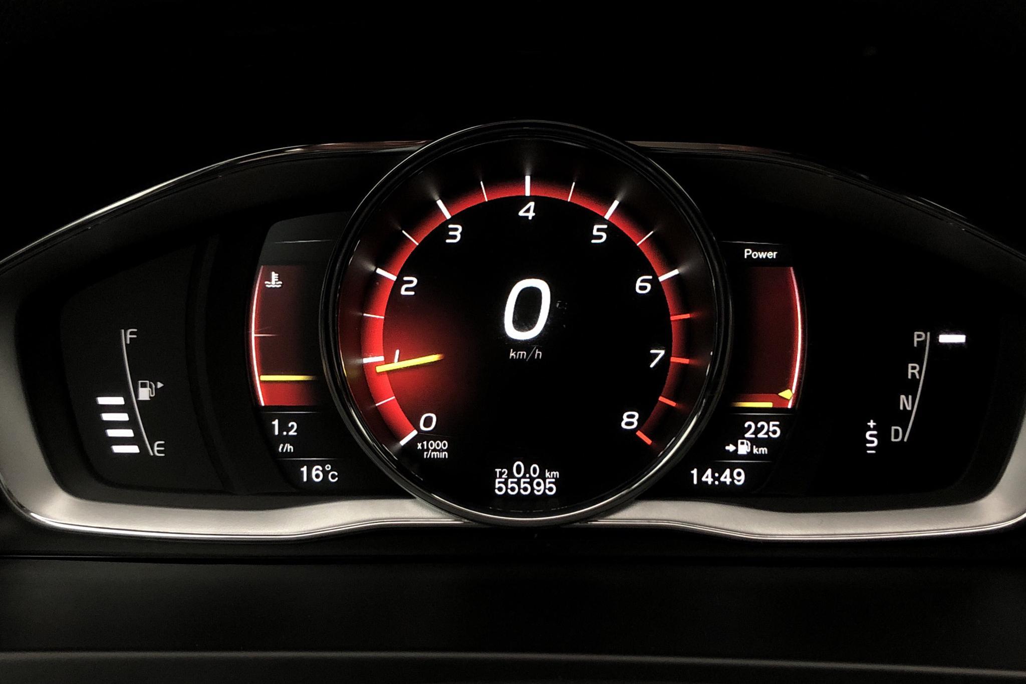 Volvo V60 T5 (245hk) - 55 630 km - Automatic - white - 2018