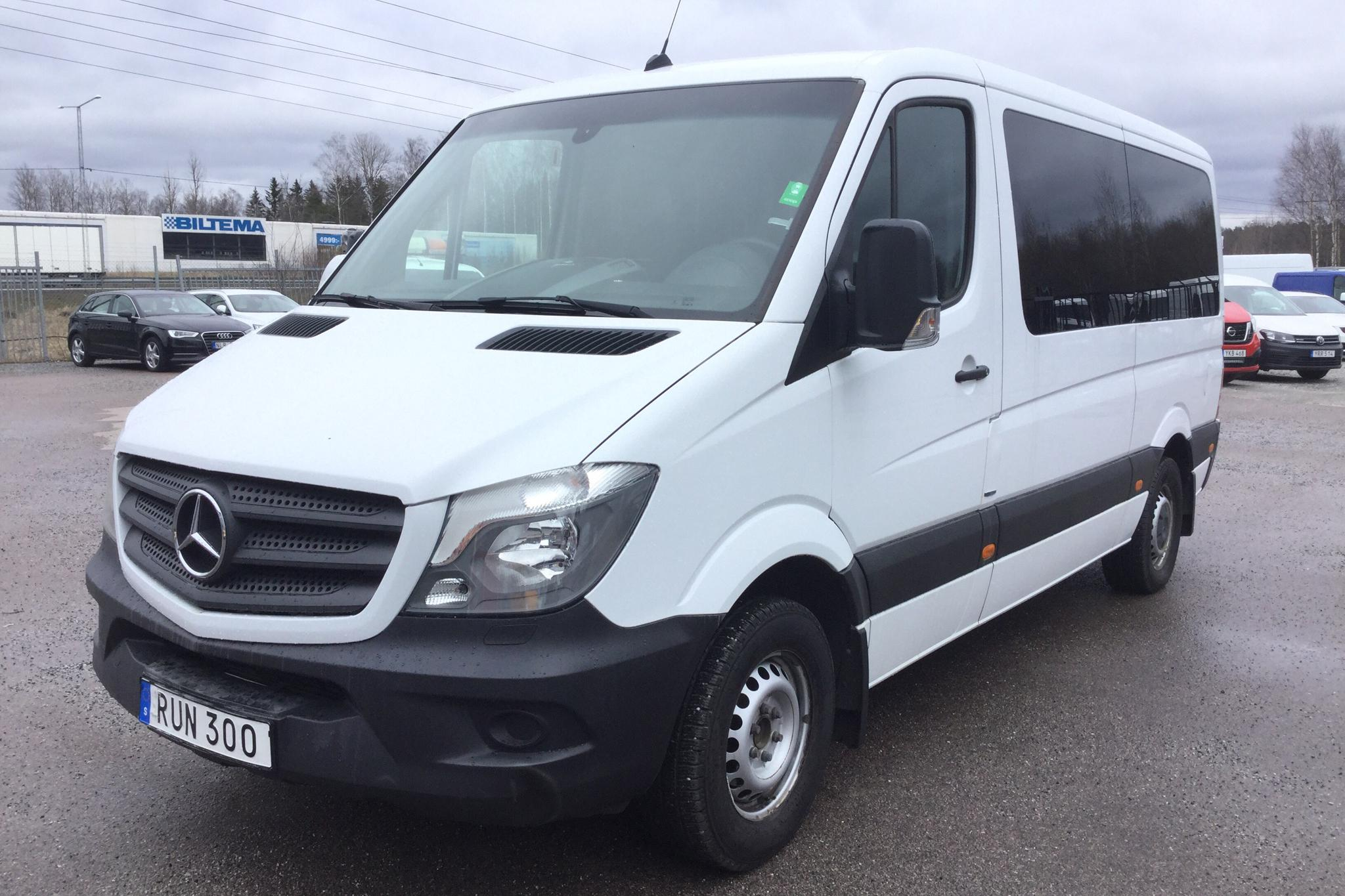 Mercedes Sprinter 316 NGT (156hk) - 91 900 km - Automatic - white - 2016