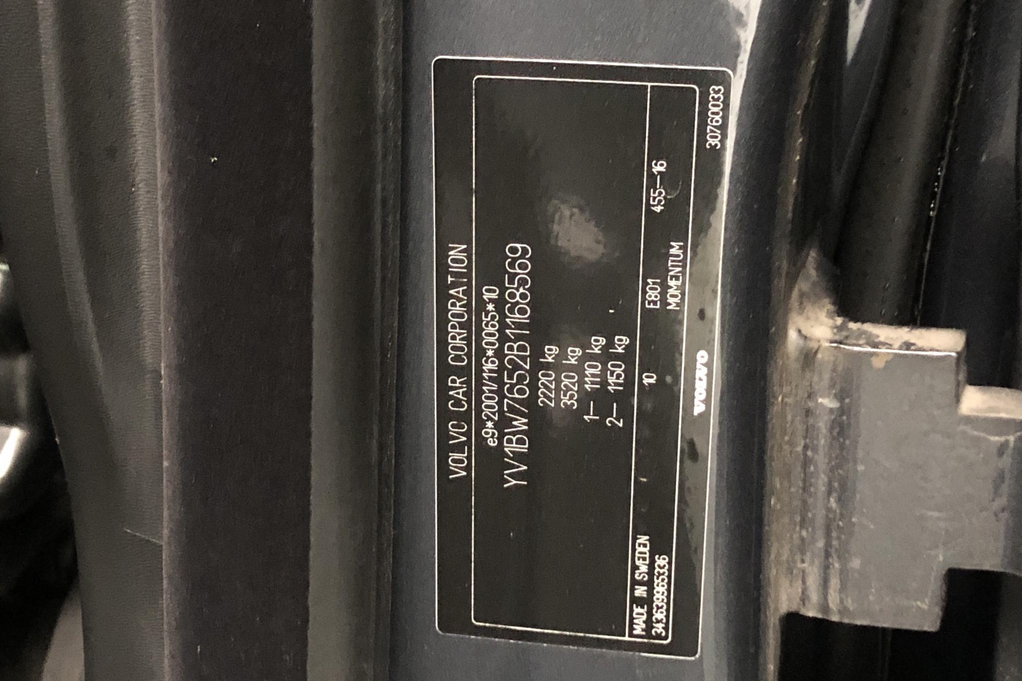 Volvo V70 II 1.6D DRIVe (109hk) - 162 620 km - Manual - gray - 2011