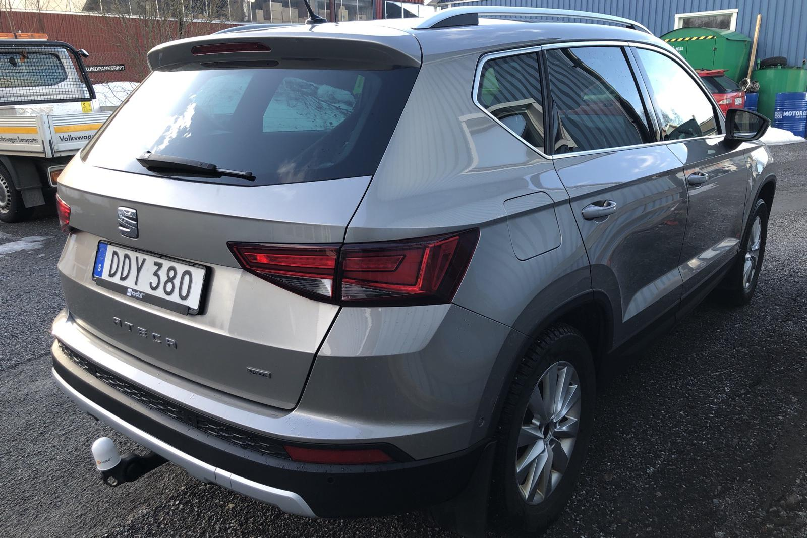 Seat Ateca 1.4 TSI ACT 4Drive (150hk) - 7 476 mil - Automat - Light Brown - 2018
