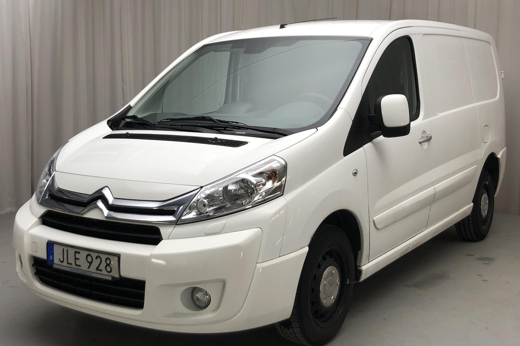 Citroen Jumpy III 2.0 HDI Skåp (128hk) - 97 490 km - Manual - white - 2016