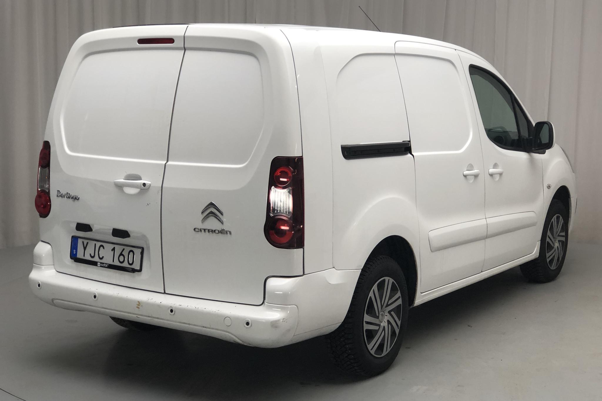 Citroen Berlingo 1.6 BlueHDi Skåp (100hk) - 87 030 km - Manual - white - 2017