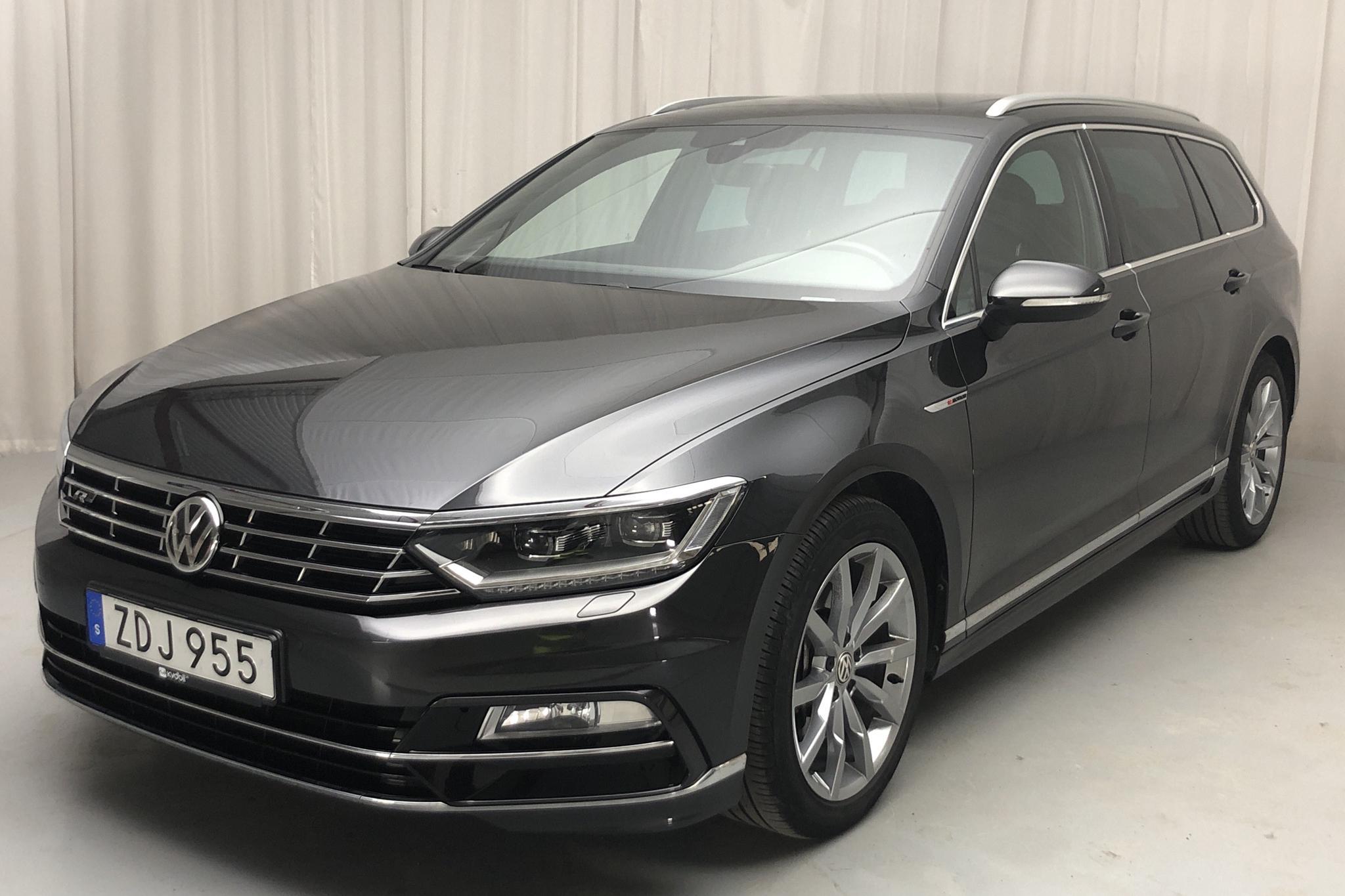 VW Passat GTR Sportscombi 4MOTION (280hk) - 52 000 km - Automatic - Dark Grey - 2018