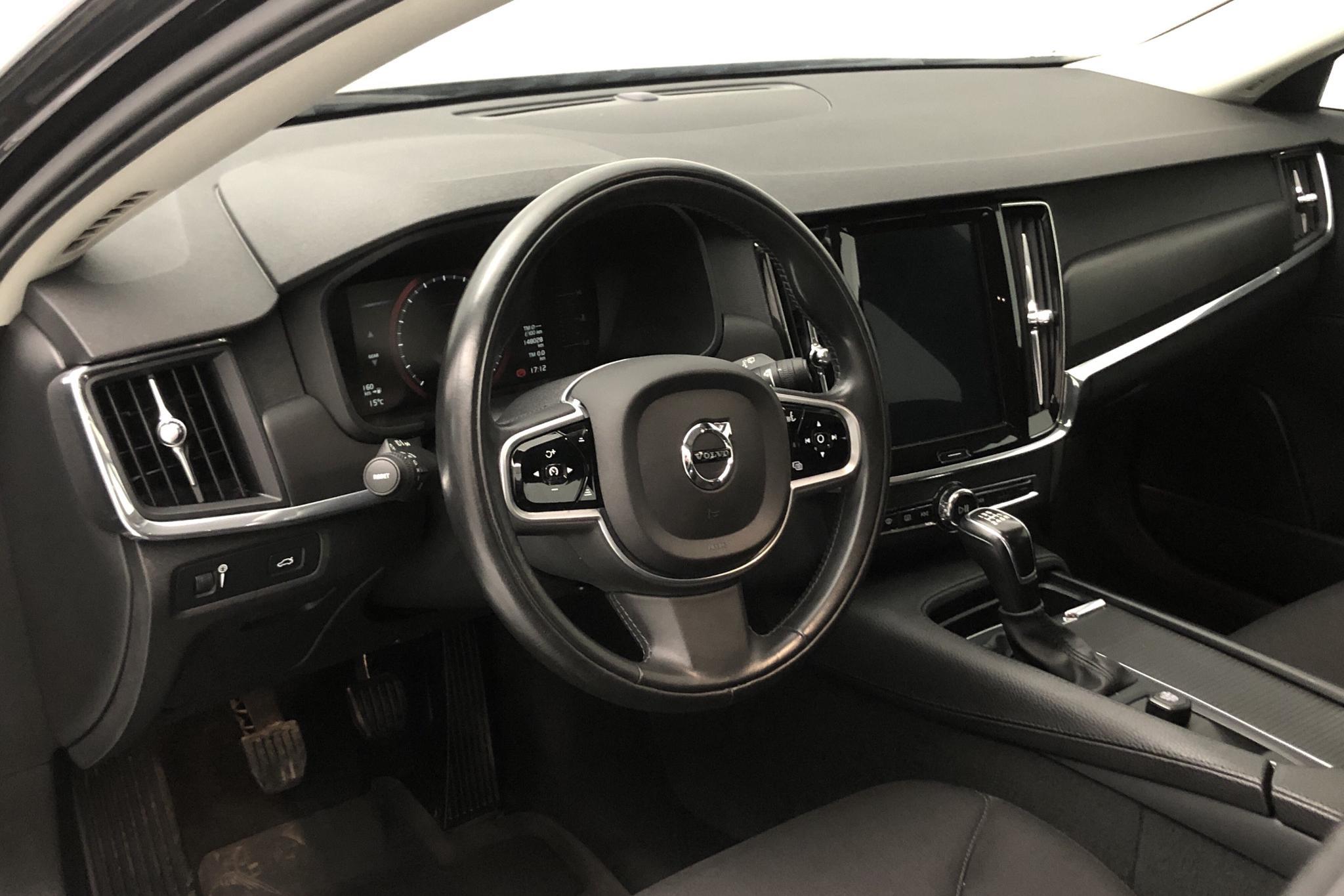Volvo V90 D3 (150hk) - 14 802 mil - Manuell - svart - 2018