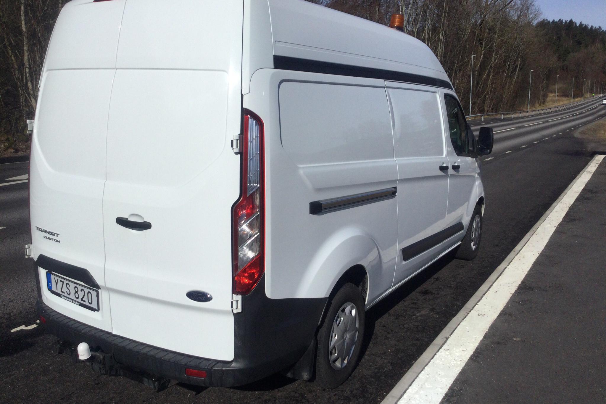 Ford Transit Custom 300 (130hk) - 31 400 km - Manual - white - 2018