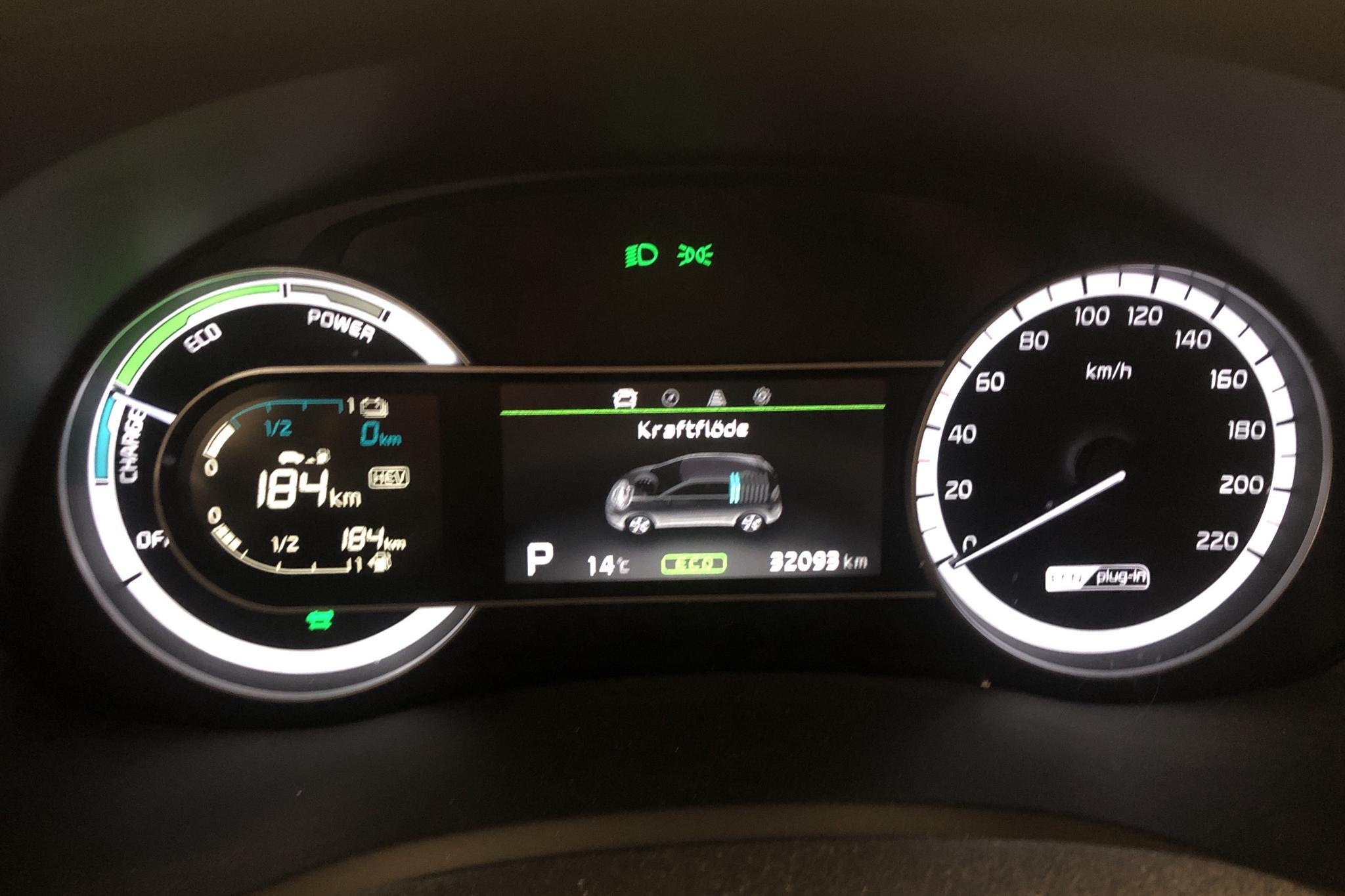 KIA Niro Plug-in Hybrid 1.6 (141hk) - 3 210 mil - Automat - grå - 2018