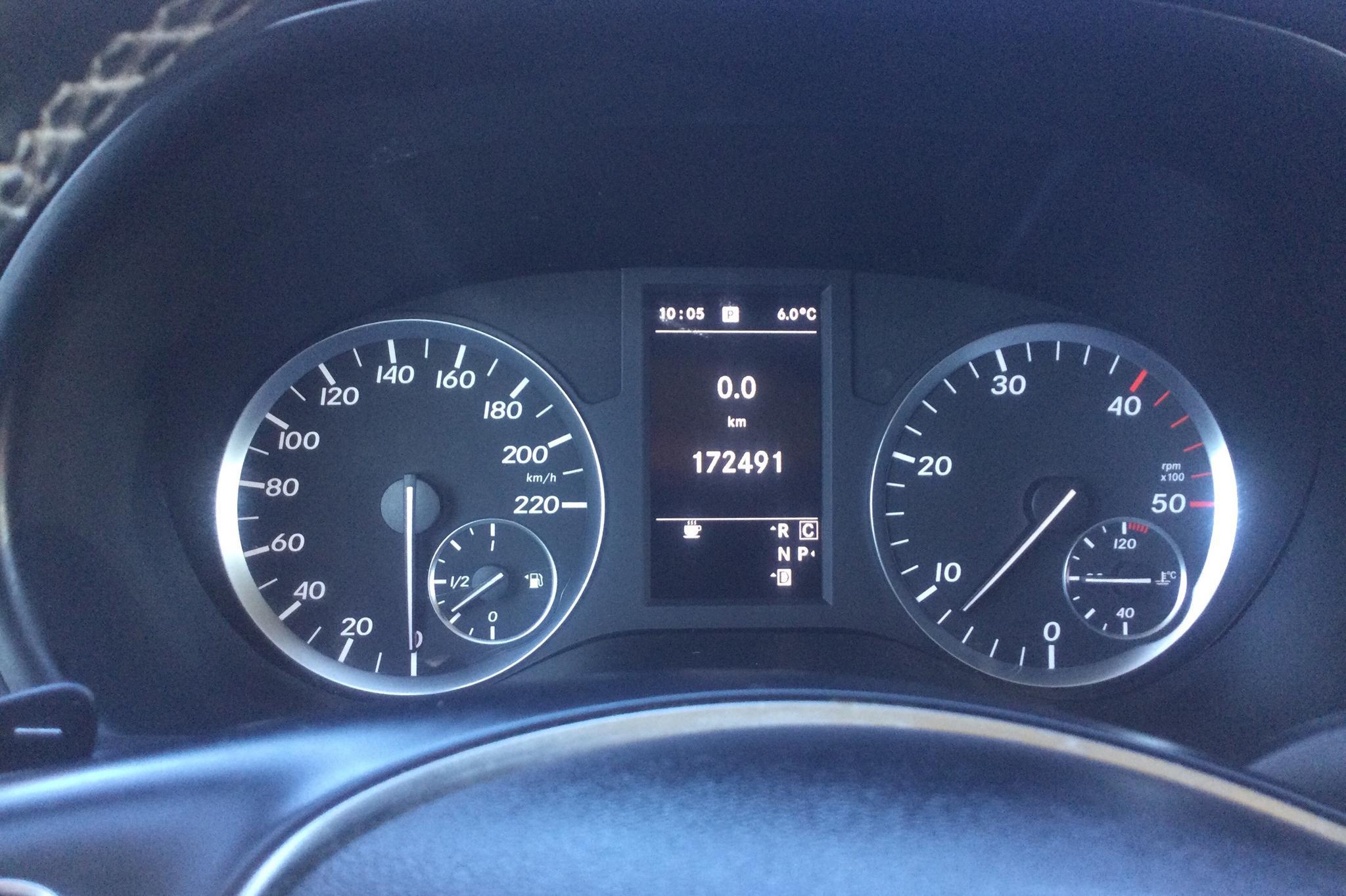 Mercedes Vito 119 BlueTEC 4x4 W640 (190hk) - 17 249 mil - Automat - vit - 2017