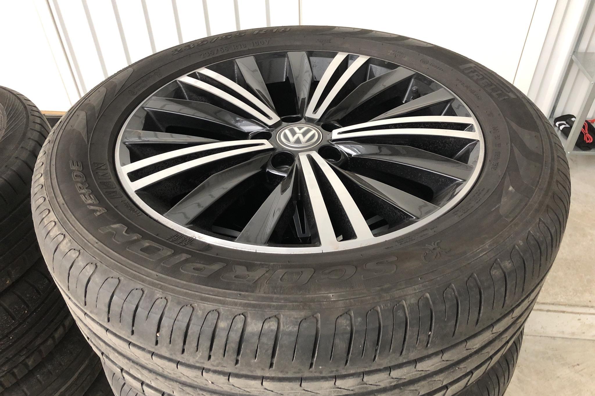 VW Tiguan 2.0 TDI 4MOTION (190hk) - 14 781 mil - Automat - silver - 2018