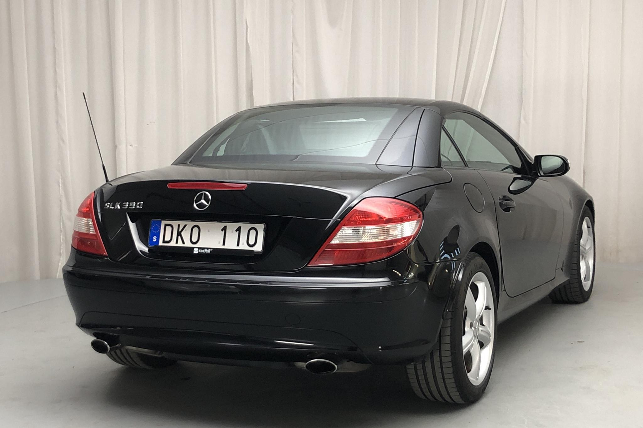 Mercedes SLK 350 R171 (272hk) - 14 742 mil - Automat - svart - 2005