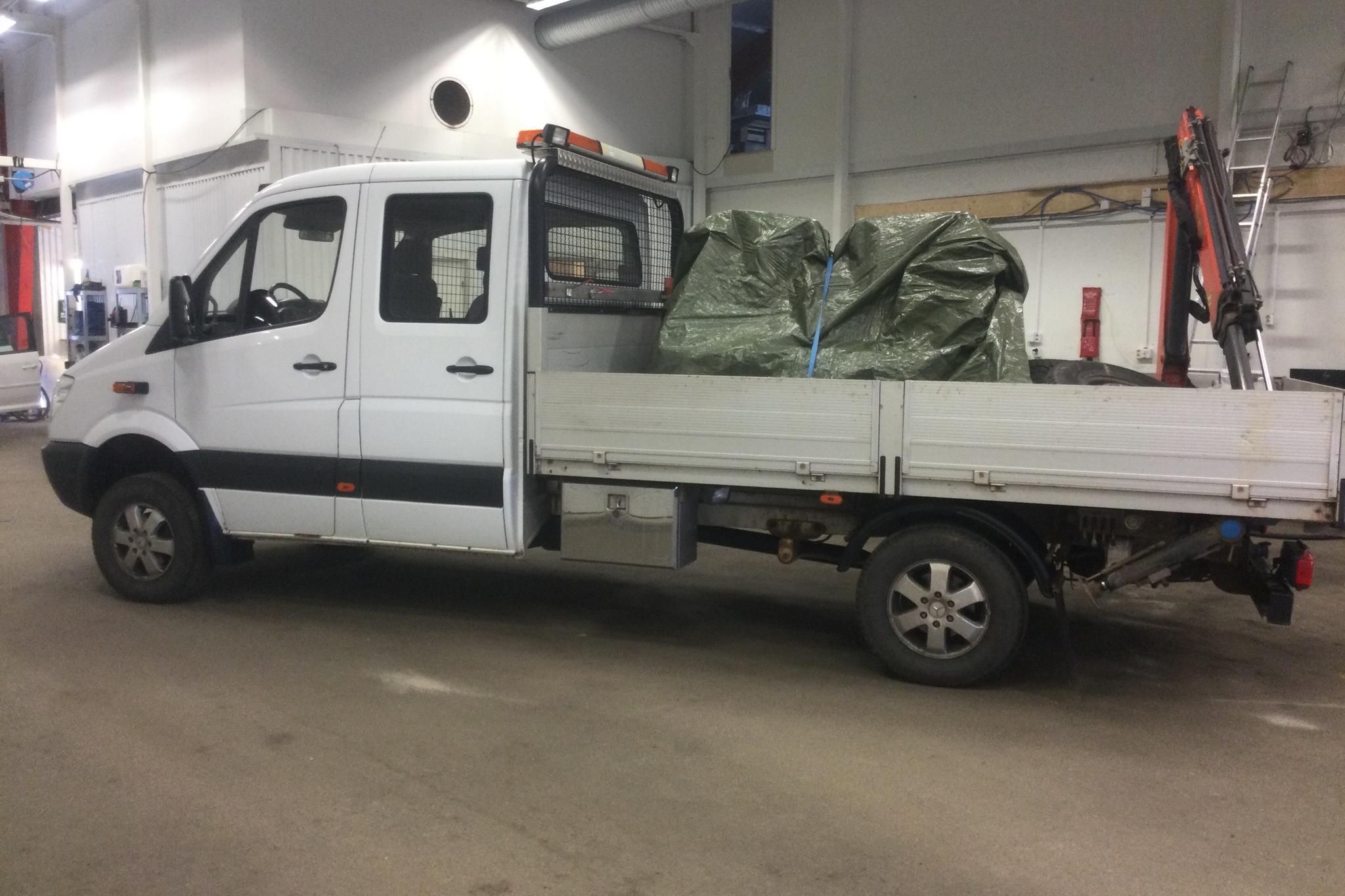 Mercedes Sprinter 213 CDI Crew Cab (129hk) - 19 262 mil - Automat - vit - 2012