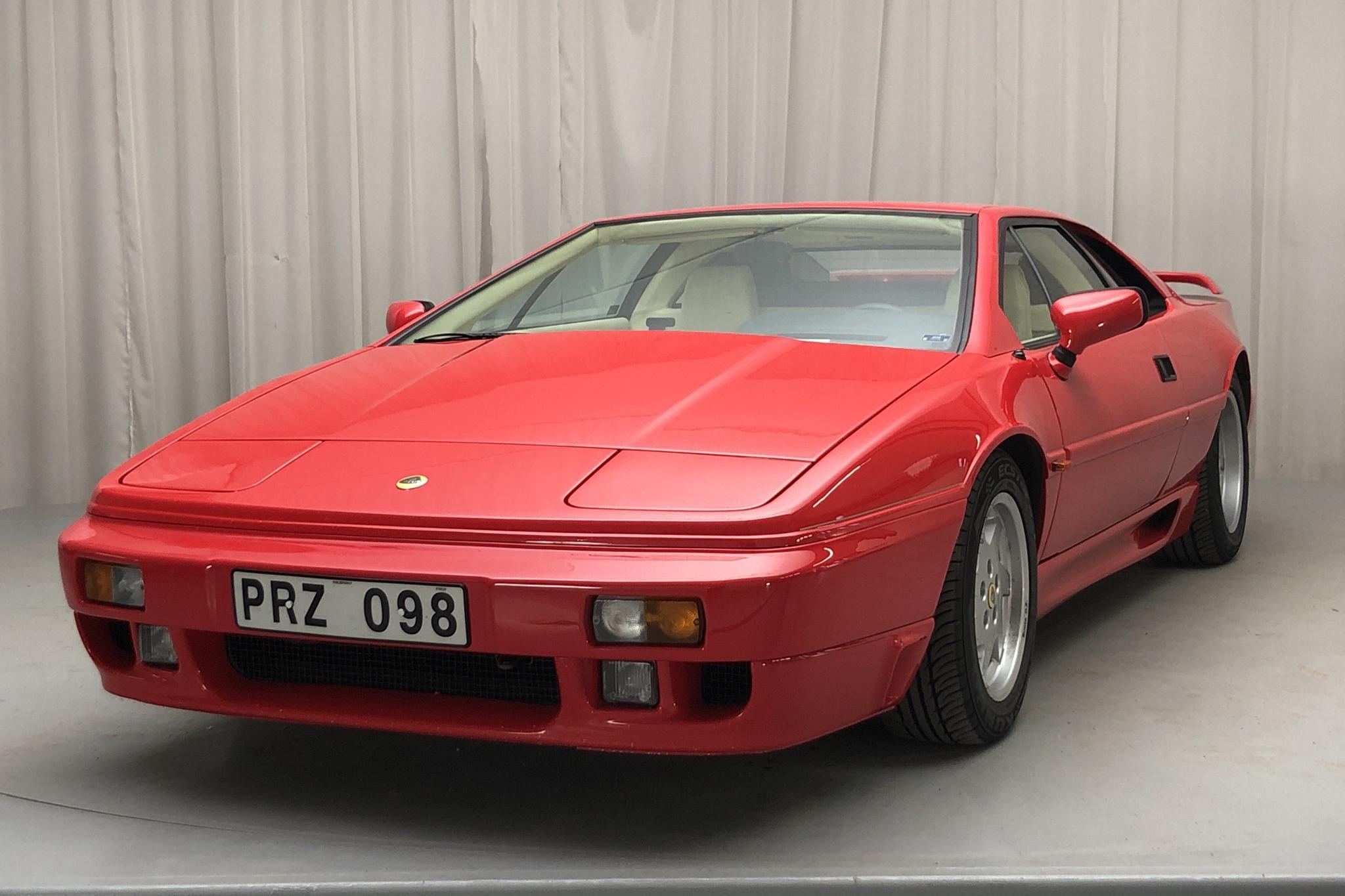Lotus Lotus Esprit SE 2.2 Turbo (268hk) X180 - 6 946 mil - Manuell - röd - 1990