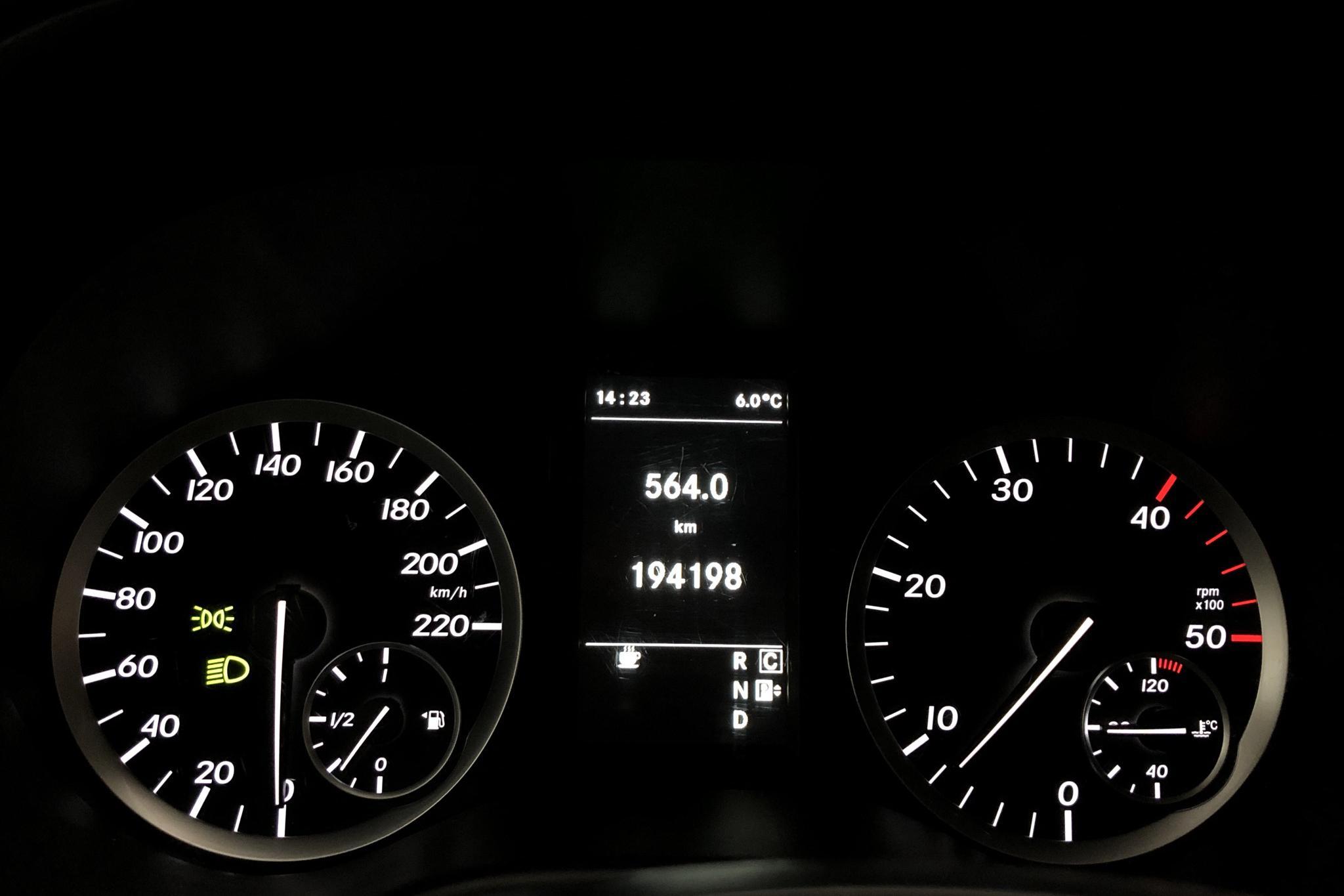 Mercedes Vito 116 CDI W640 (163hk) - 194 180 km - Automatic - white - 2018