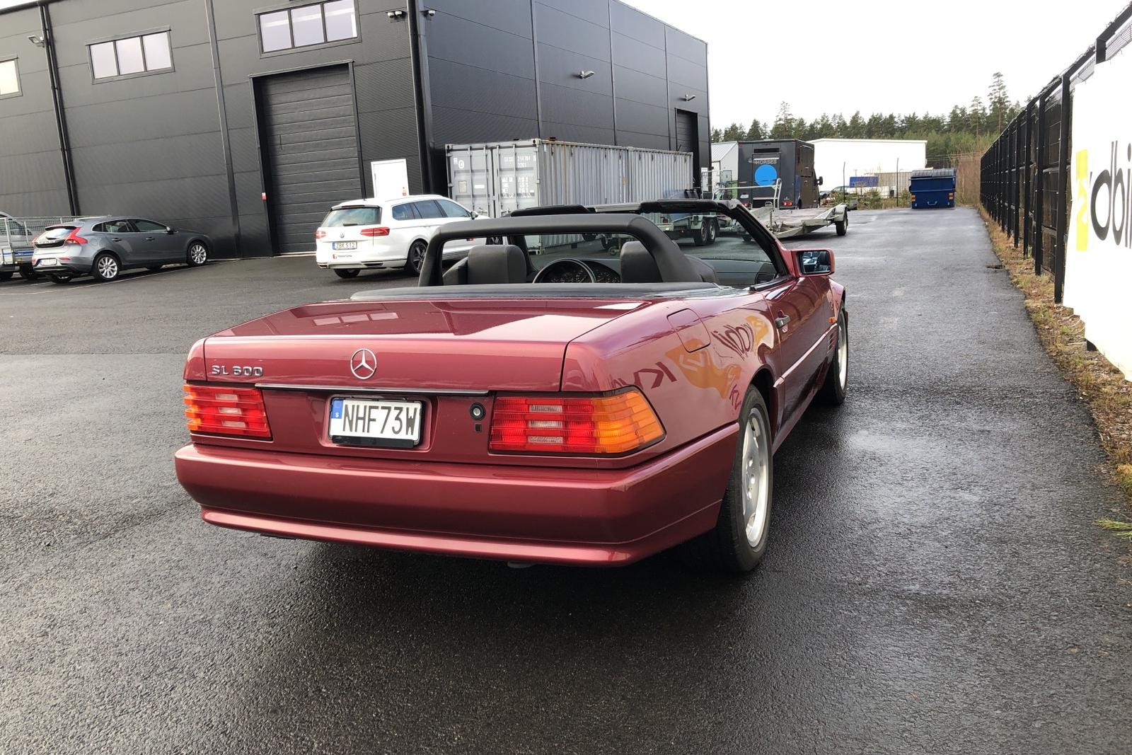 Mercedes SL 320 R129 (231hk) - 51 370 km - Automatic - red - 1995