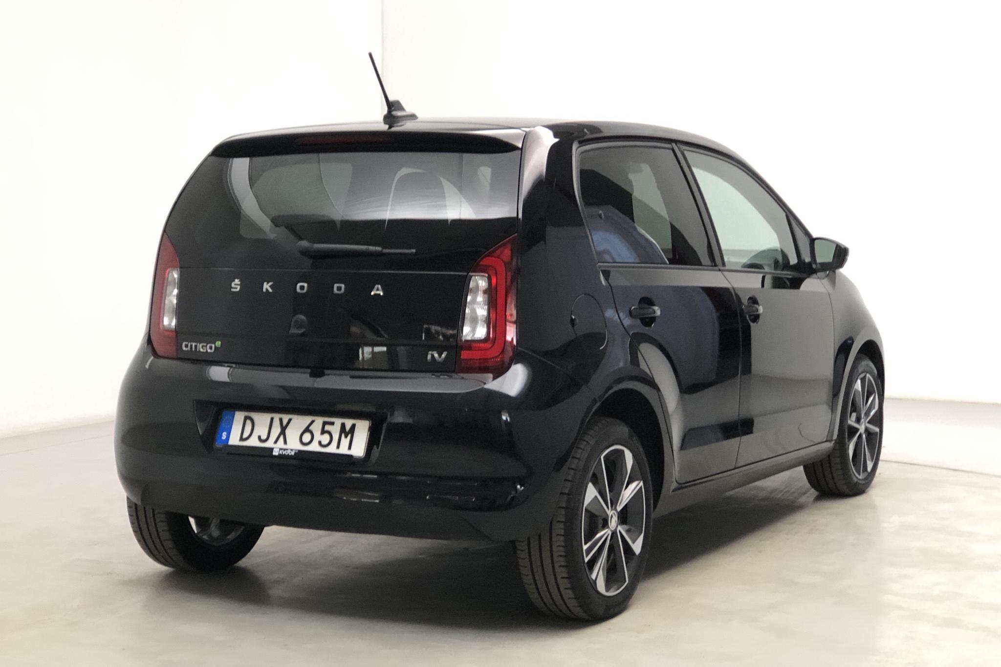 Skoda CITIGOe iV 36,8 kWh (83hk) - 2 584 mil - Automat - svart - 2020