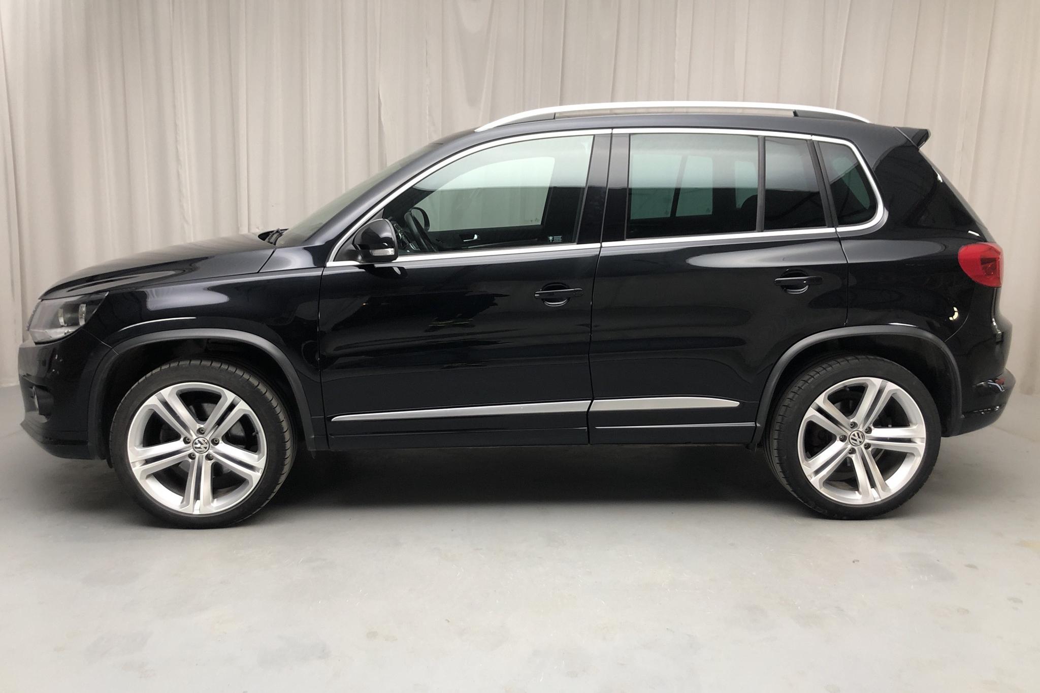 VW Tiguan 1.4 TSI 4MOTION (160hk) - 79 920 km - Manual - black - 2012