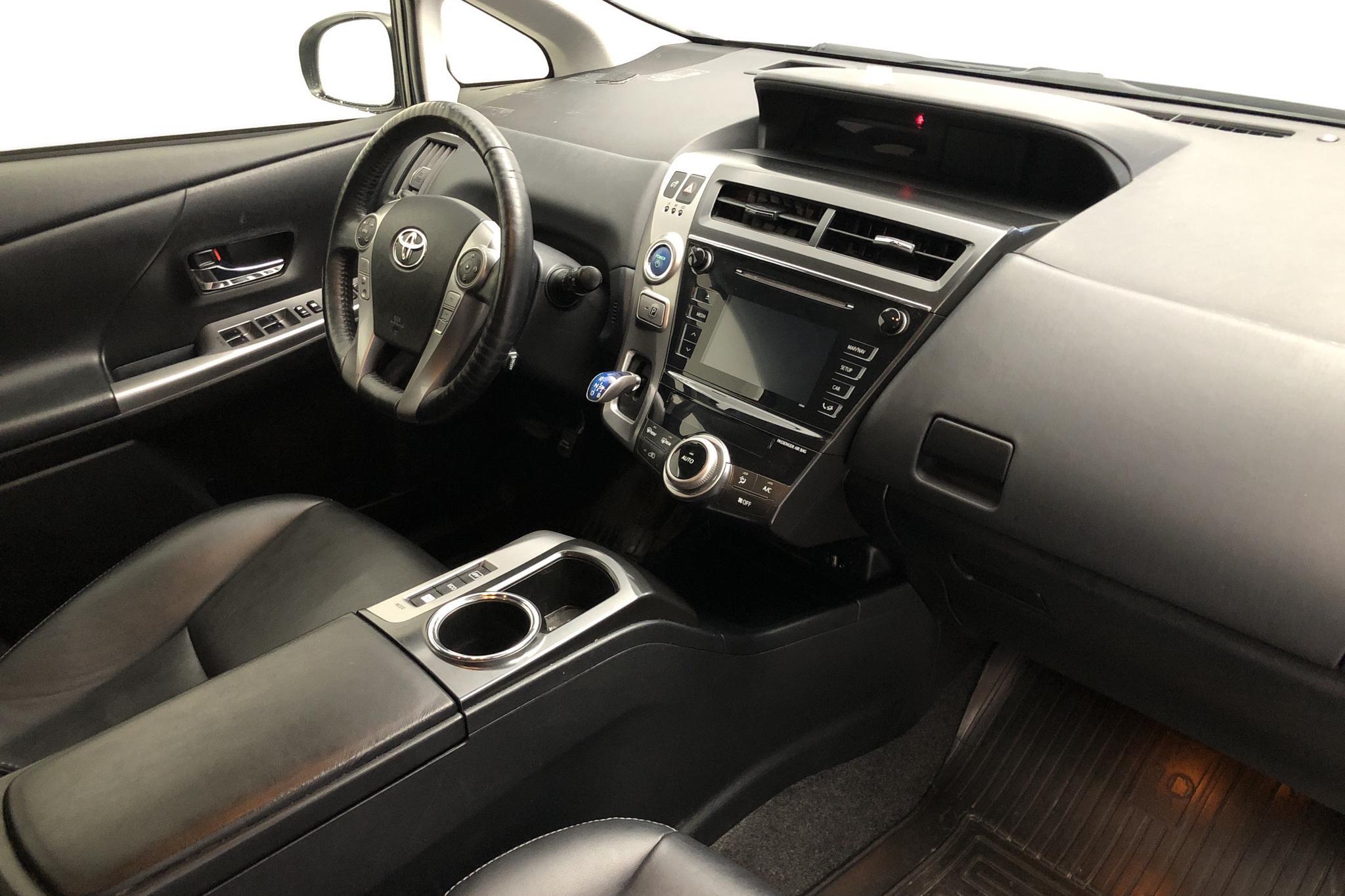 Toyota Prius+ 1.8 Hybrid (99hk) - 15 733 mil - Automat - svart - 2017