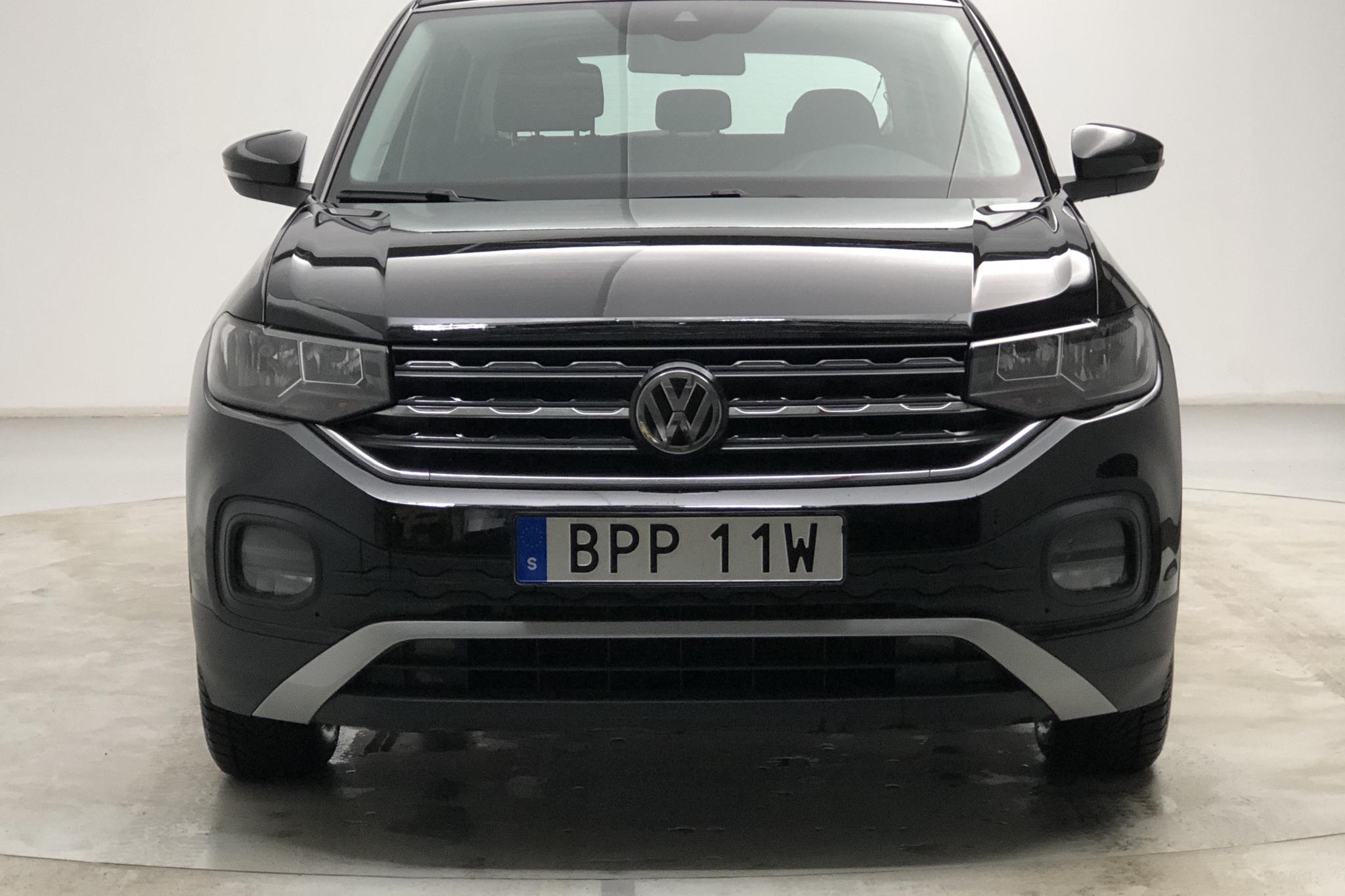 VW T-Cross 1.0 TSI (95hk) - 25 730 km - Manual - black - 2019