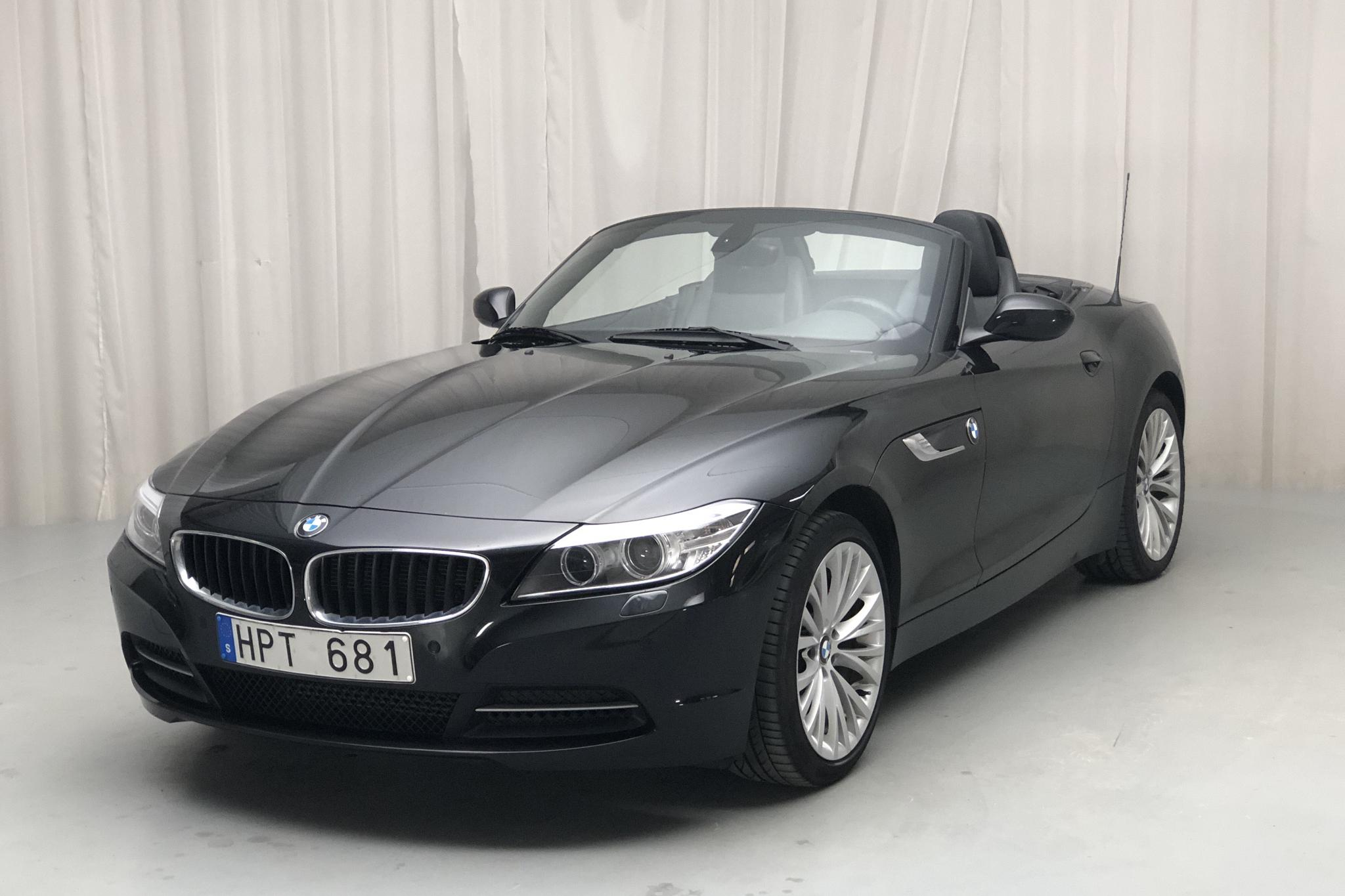 BMW Z4 sDrive 18i Roadster, E89 (156hk) - 62 970 km - Manual - black - 2013